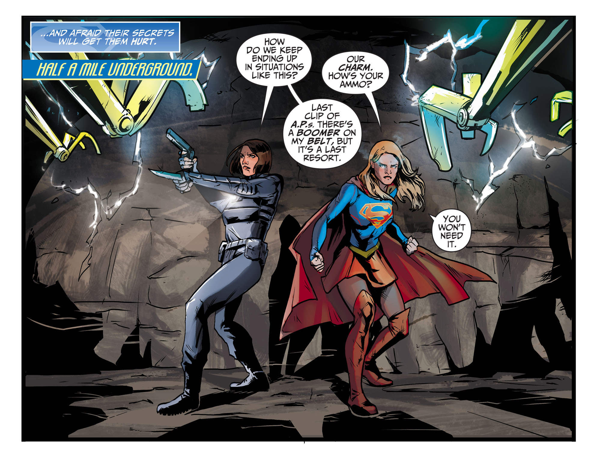 Read online Adventures of Supergirl comic -  Issue #9 - 5