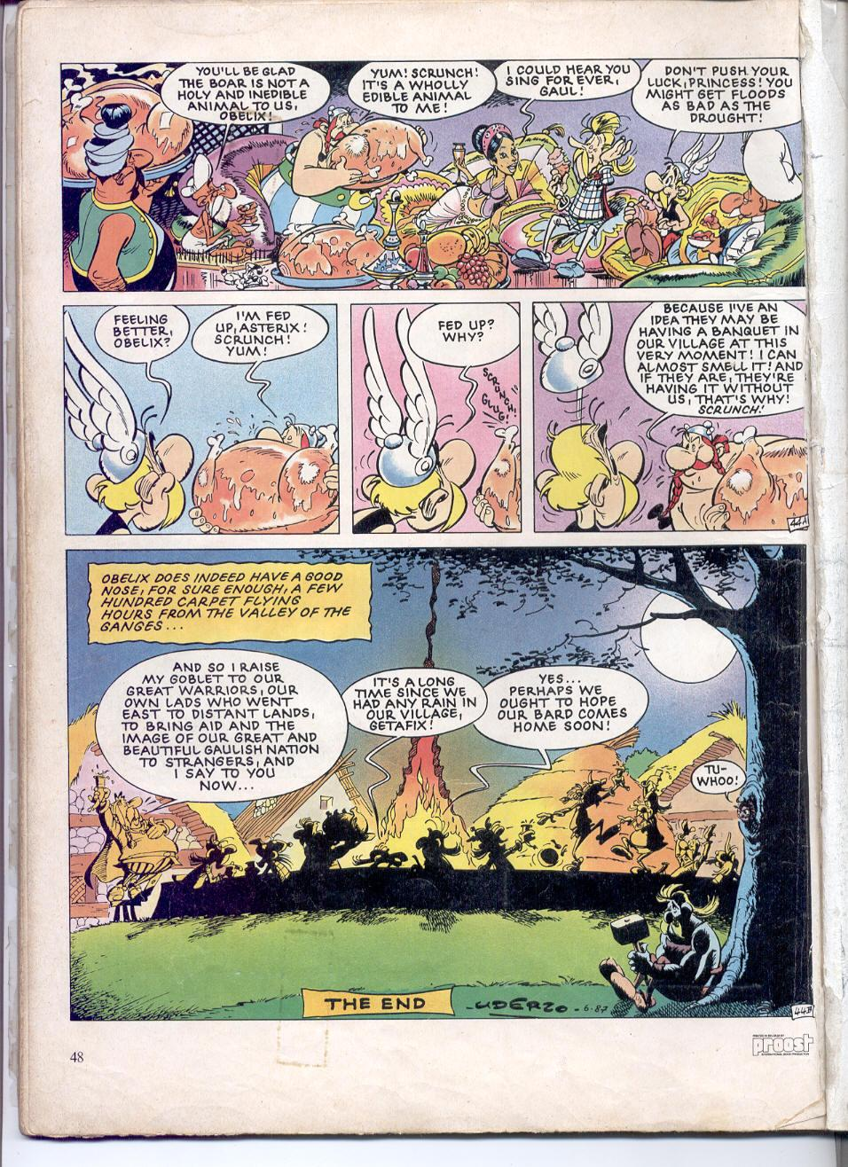Read online Asterix comic -  Issue #28 - 45