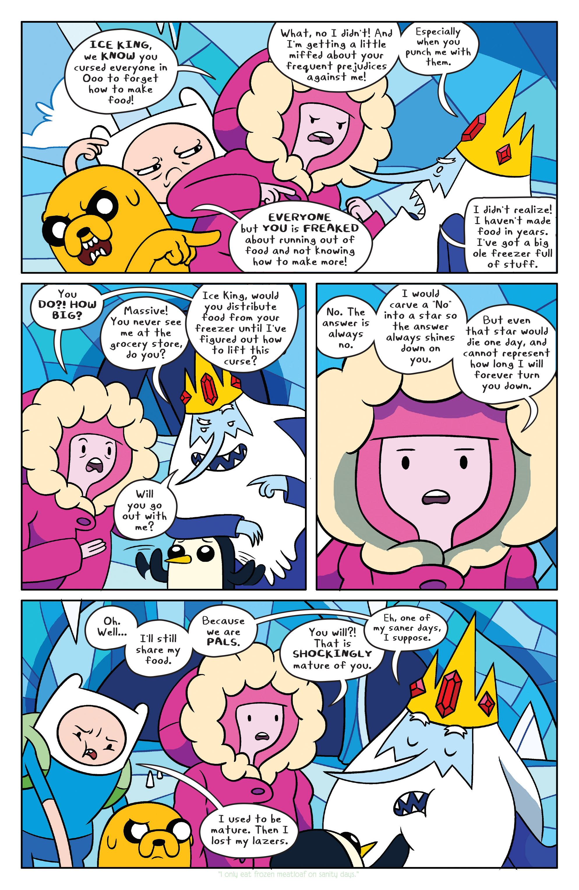 Read online Adventure Time comic -  Issue #37 - 13
