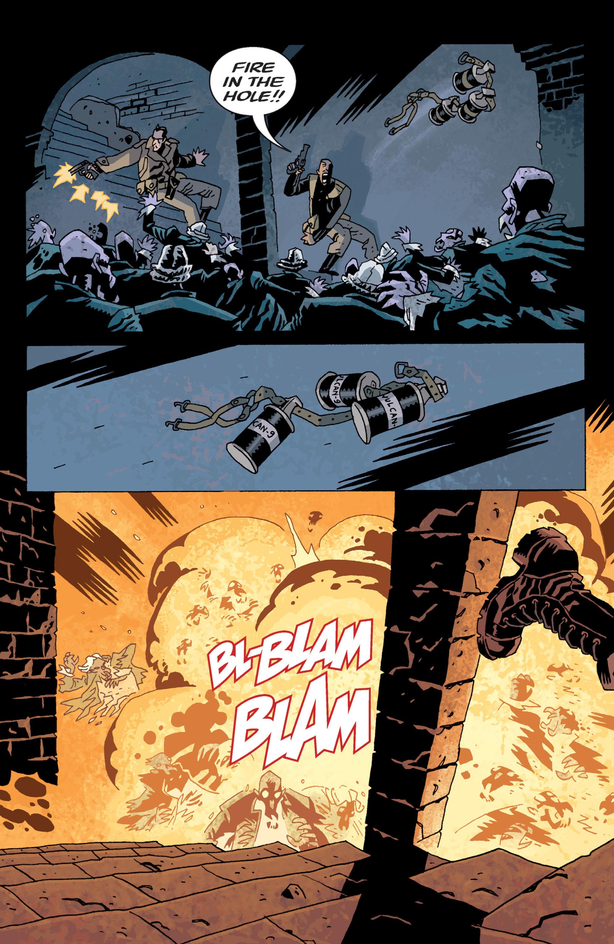 Read online B.P.R.D. (2003) comic -  Issue # TPB 13 - 65