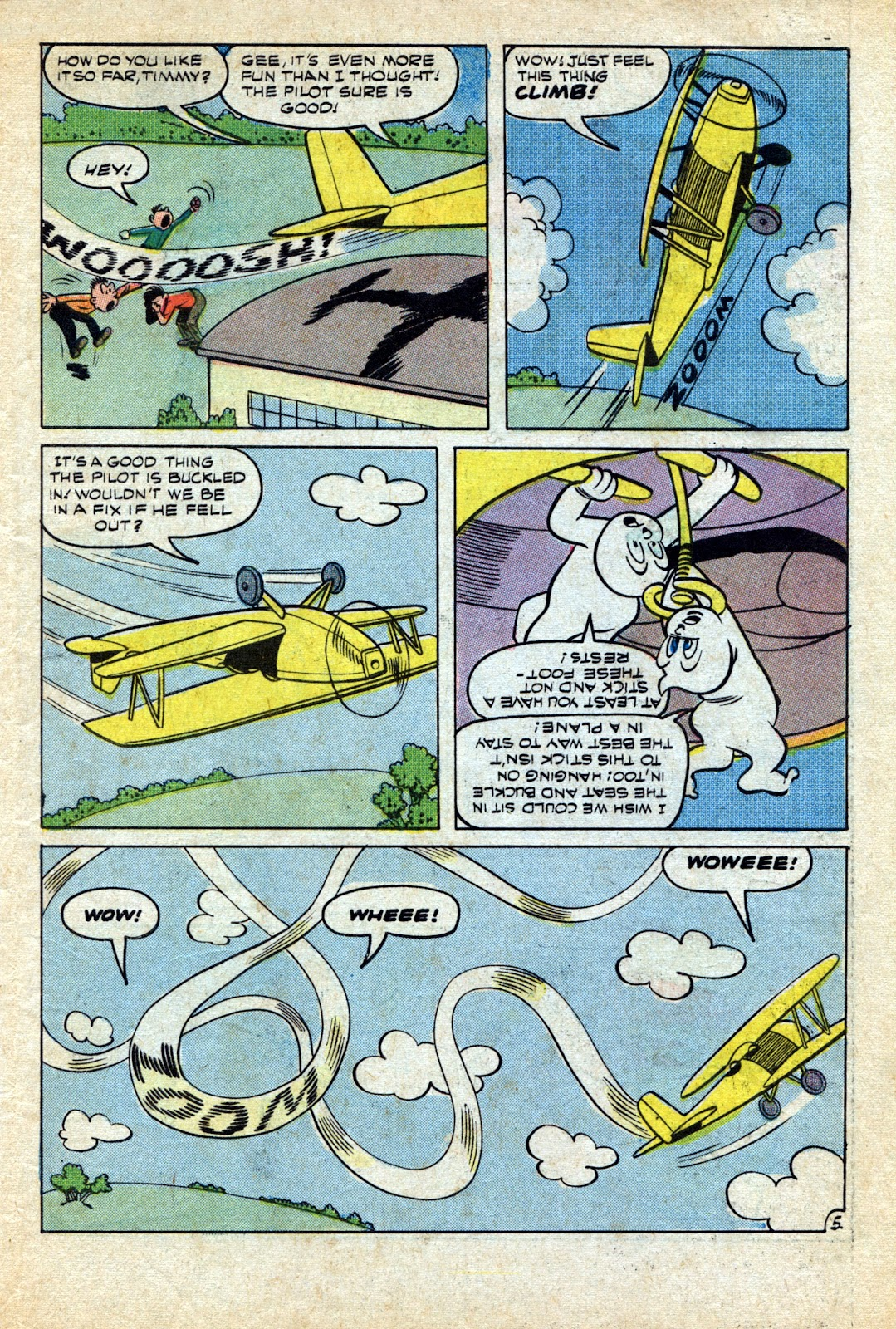 Read online Timmy the Timid Ghost comic -  Issue #4 - 7