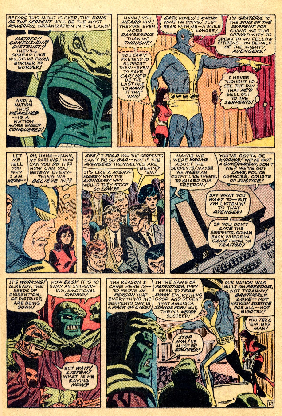 The Avengers (1963) 33 Page 12