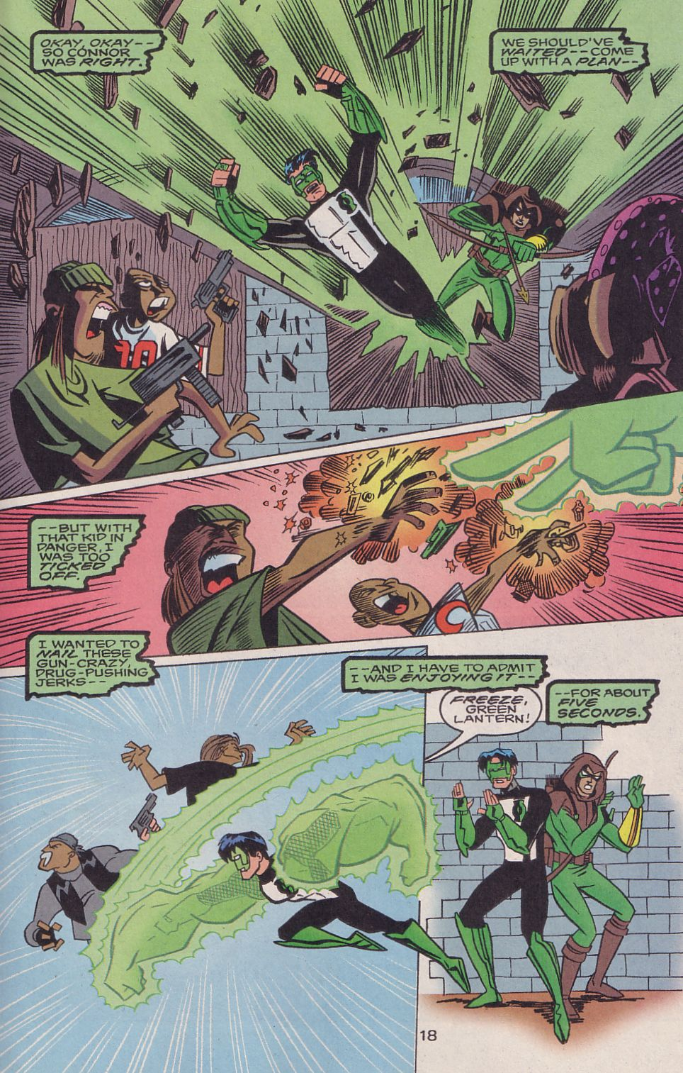 Read online Adventures in the DC Universe comic -  Issue #16 - 19