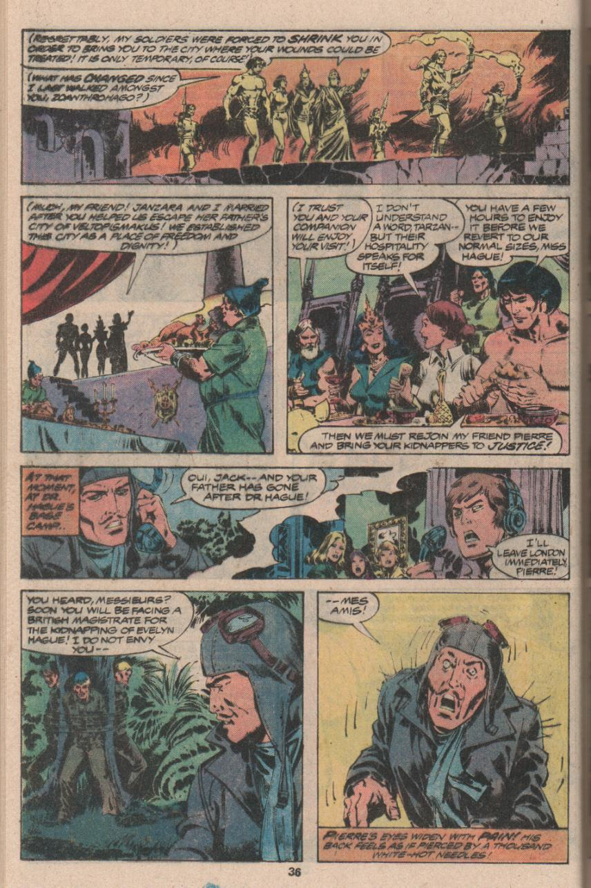 Read online Tarzan (1977) comic -  Issue # _Annual 3 - 27