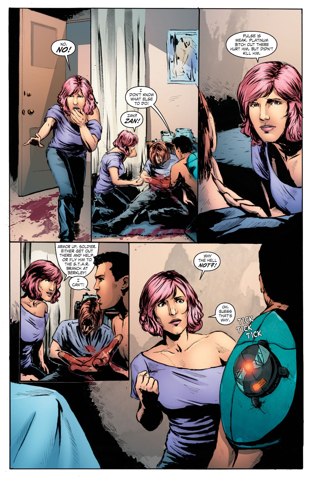 Read online Smallville Season 11 [II] comic -  Issue # TPB 7 - 162