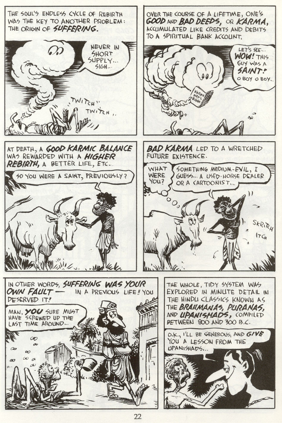 Read online The Cartoon History of the Universe comic -  Issue #8 - 25