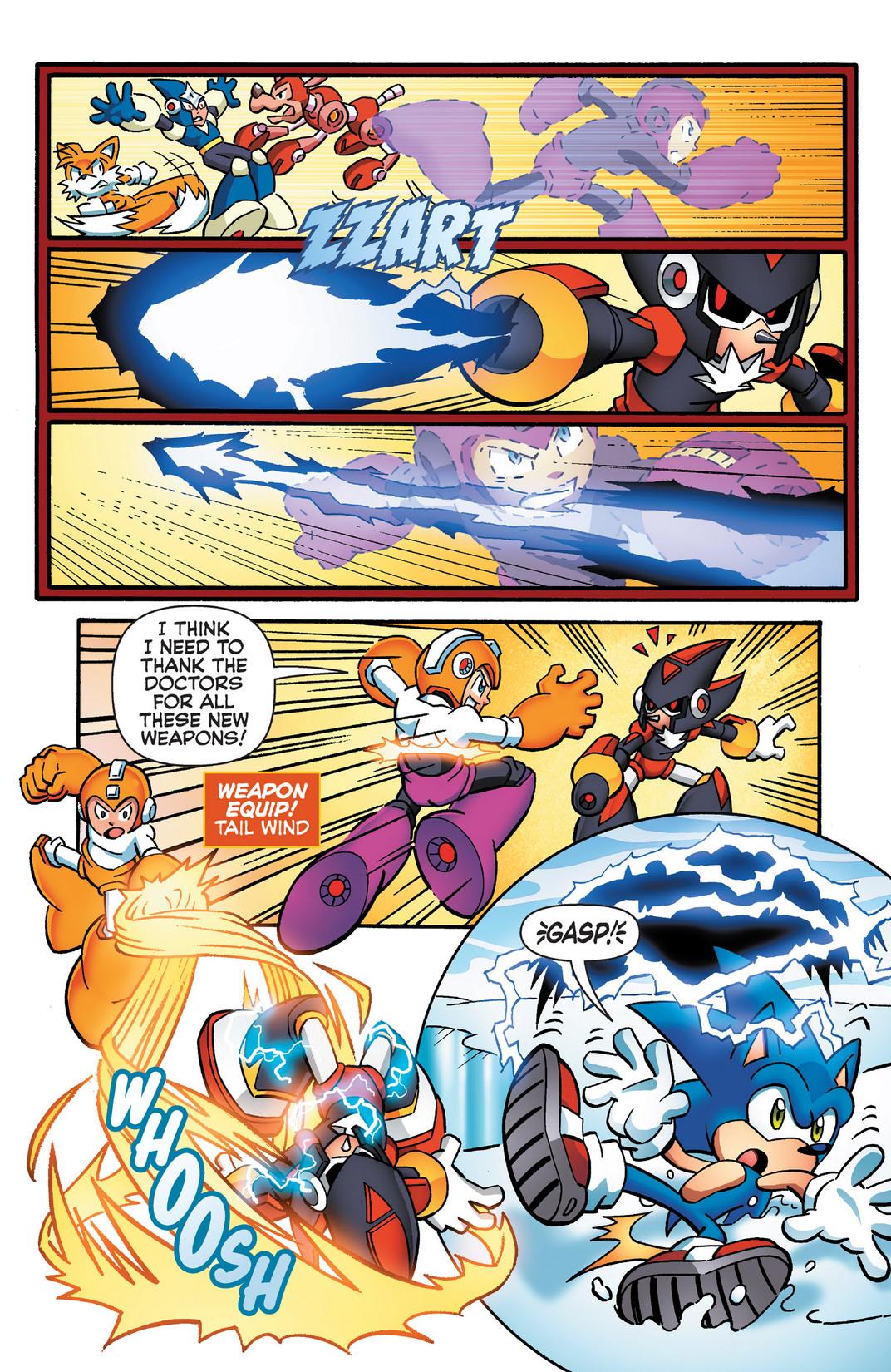 Read online Sonic Mega Man Worlds Collide comic -  Issue # Vol 2 - 65