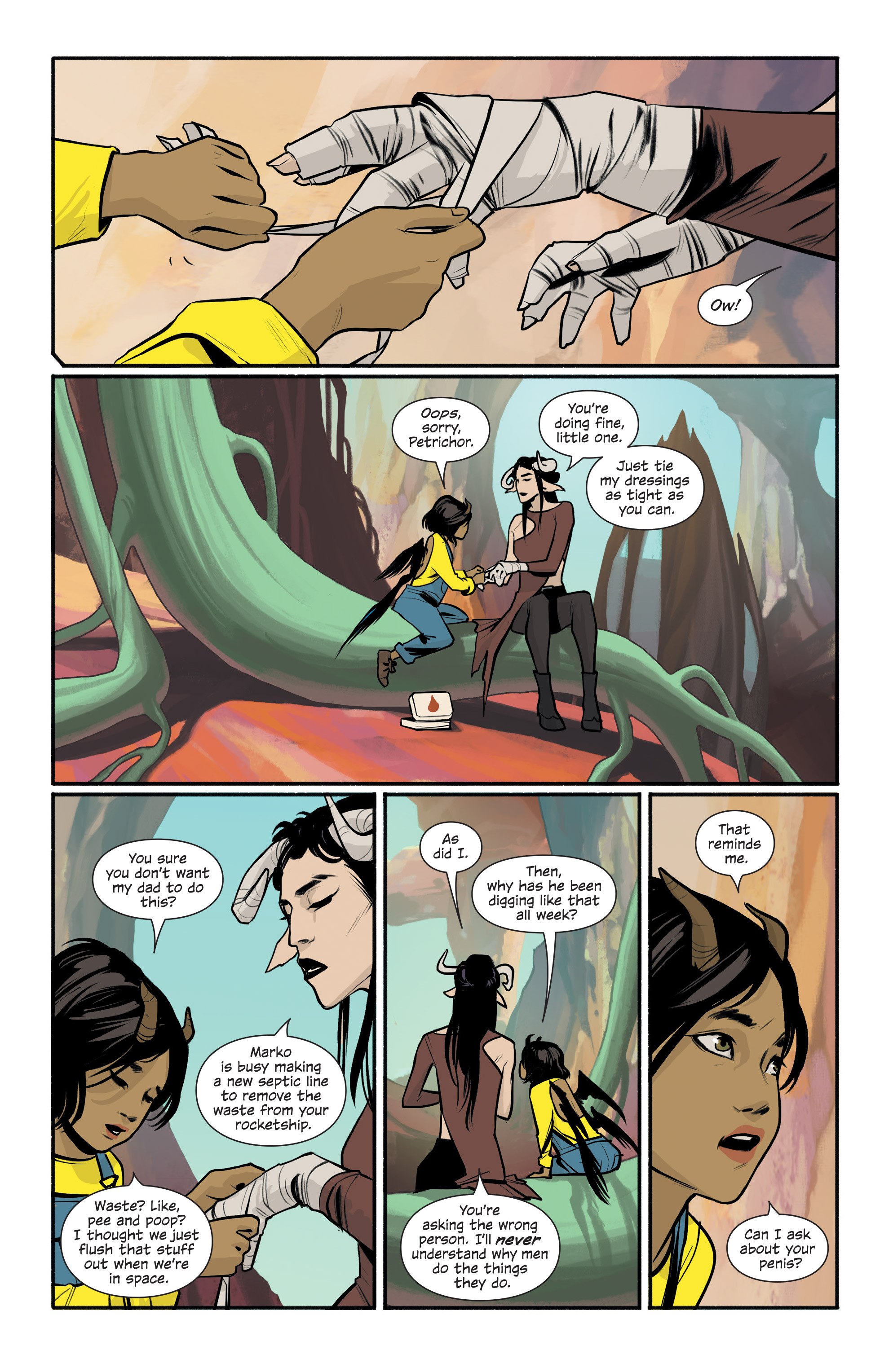 Read online Saga comic -  Issue #43 - 15