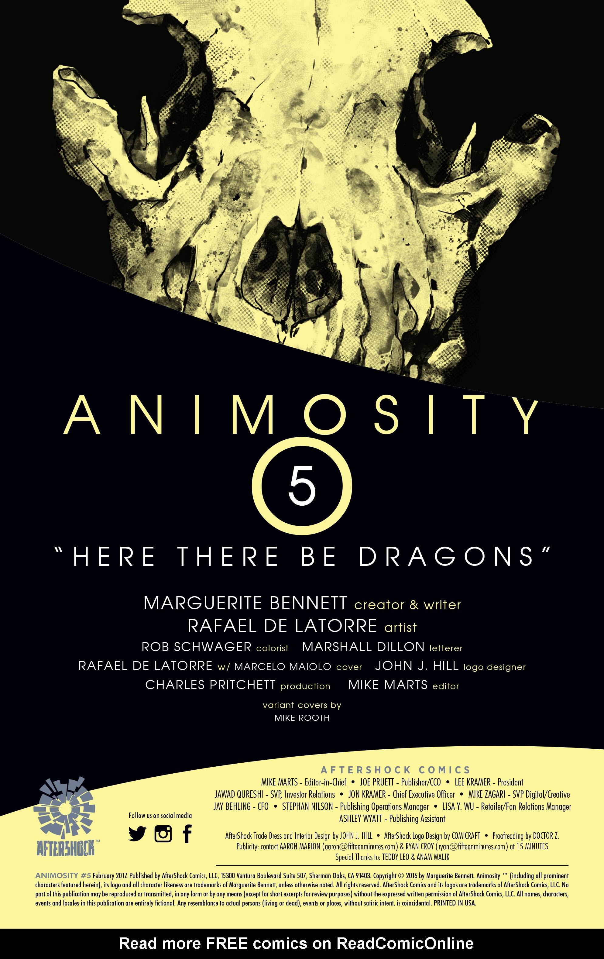 Read online Animosity comic -  Issue #5 - 2