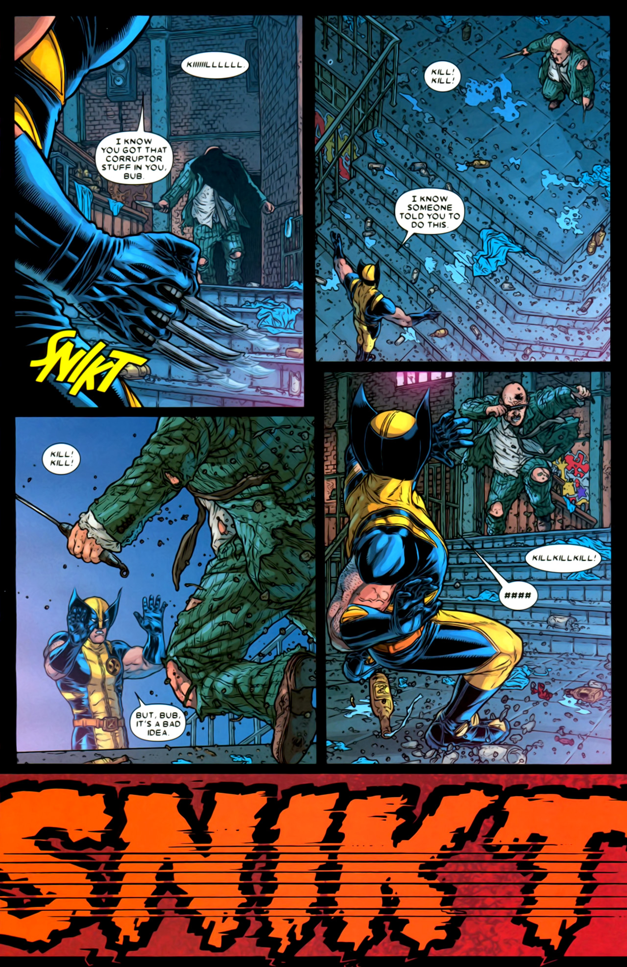 Read online Wolverine: The Best There Is comic -  Issue #2 - 8