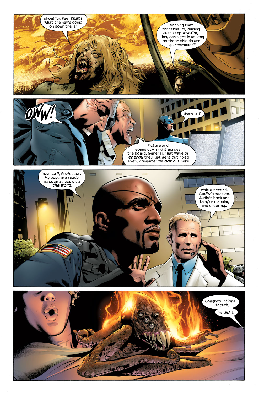Read online Ultimate Fantastic Four (2004) comic -  Issue #32 - 10