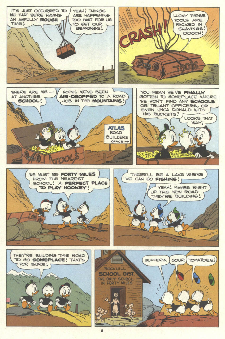 Walt Disney's Comics and Stories issue 577 - Page 10