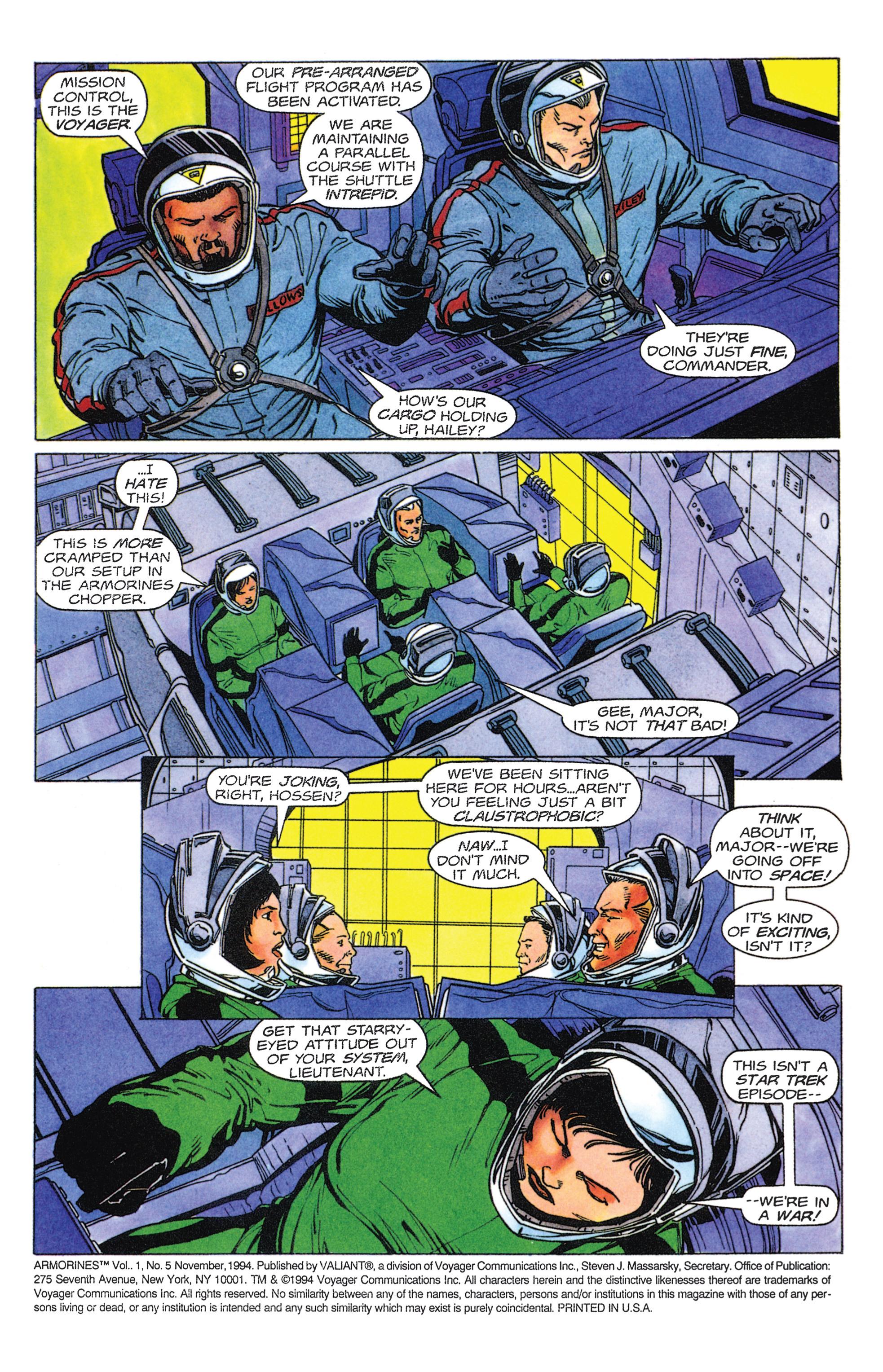Read online Armorines comic -  Issue #5 - 3
