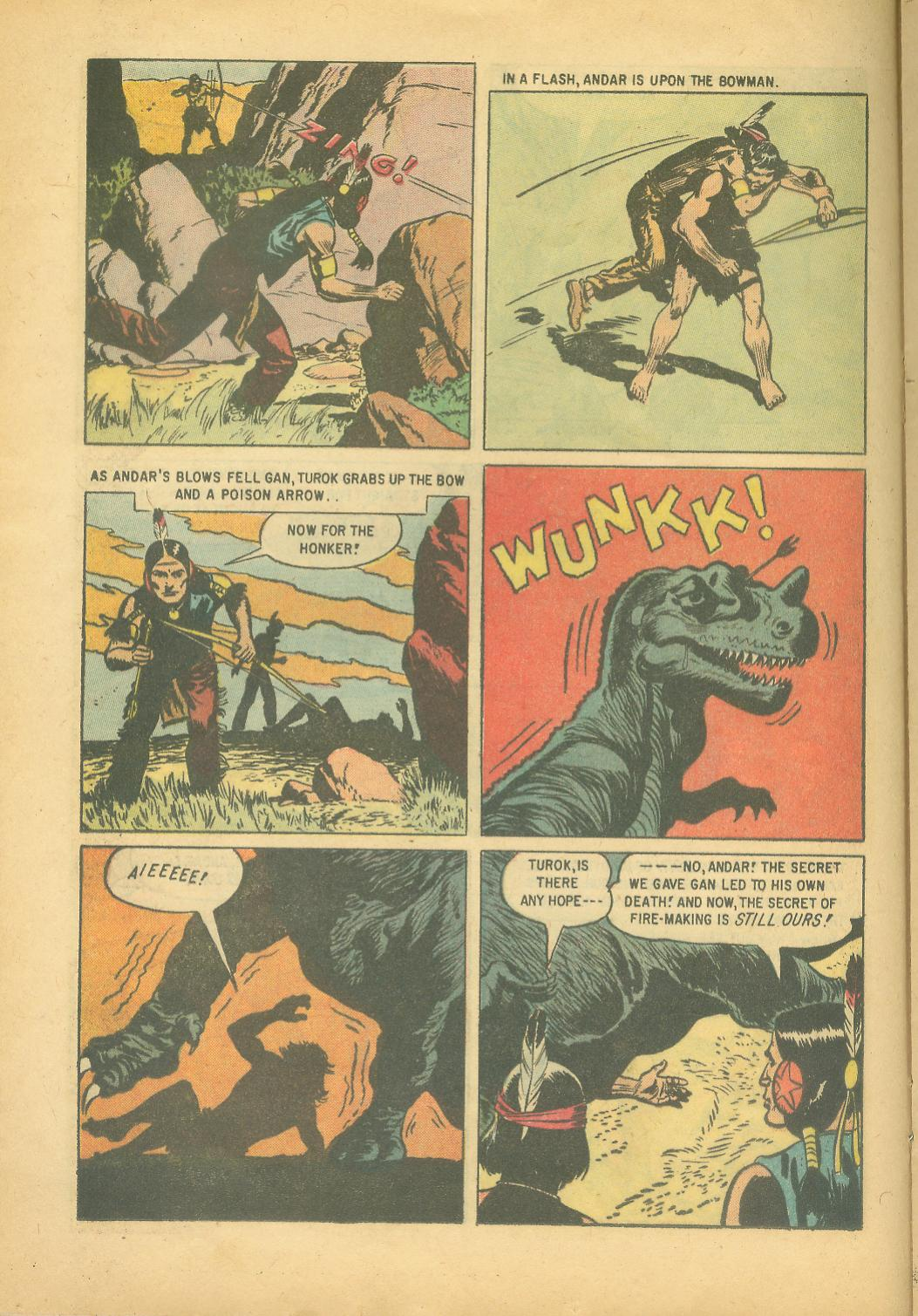 Read online Turok, Son of Stone comic -  Issue #18 - 16