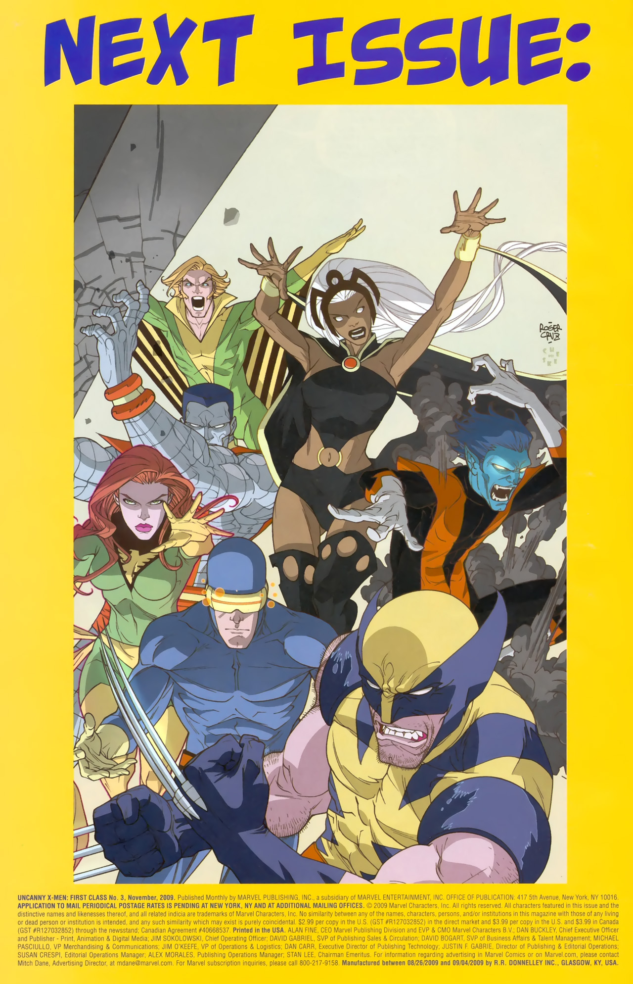 Read online Uncanny X-Men: First Class comic -  Issue #3 - 24