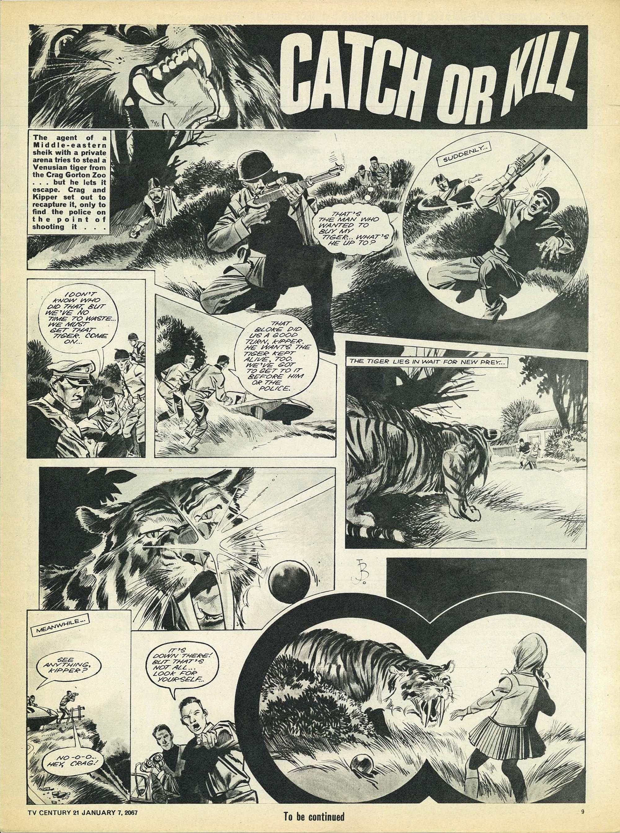 Read online TV Century 21 (TV 21) comic -  Issue #103 - 9