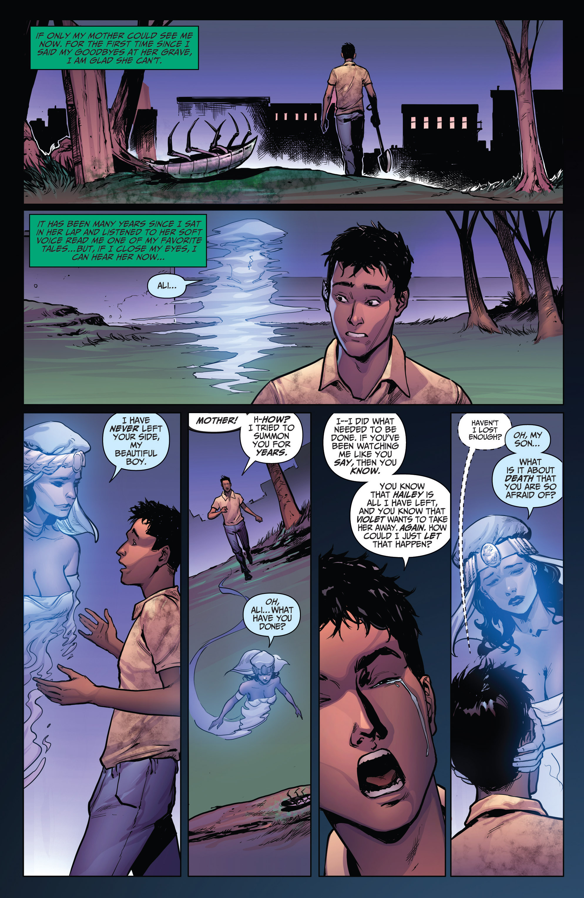 Read online Grimm Fairy Tales: Arcane Acre comic -  Issue # TPB 4 - 144