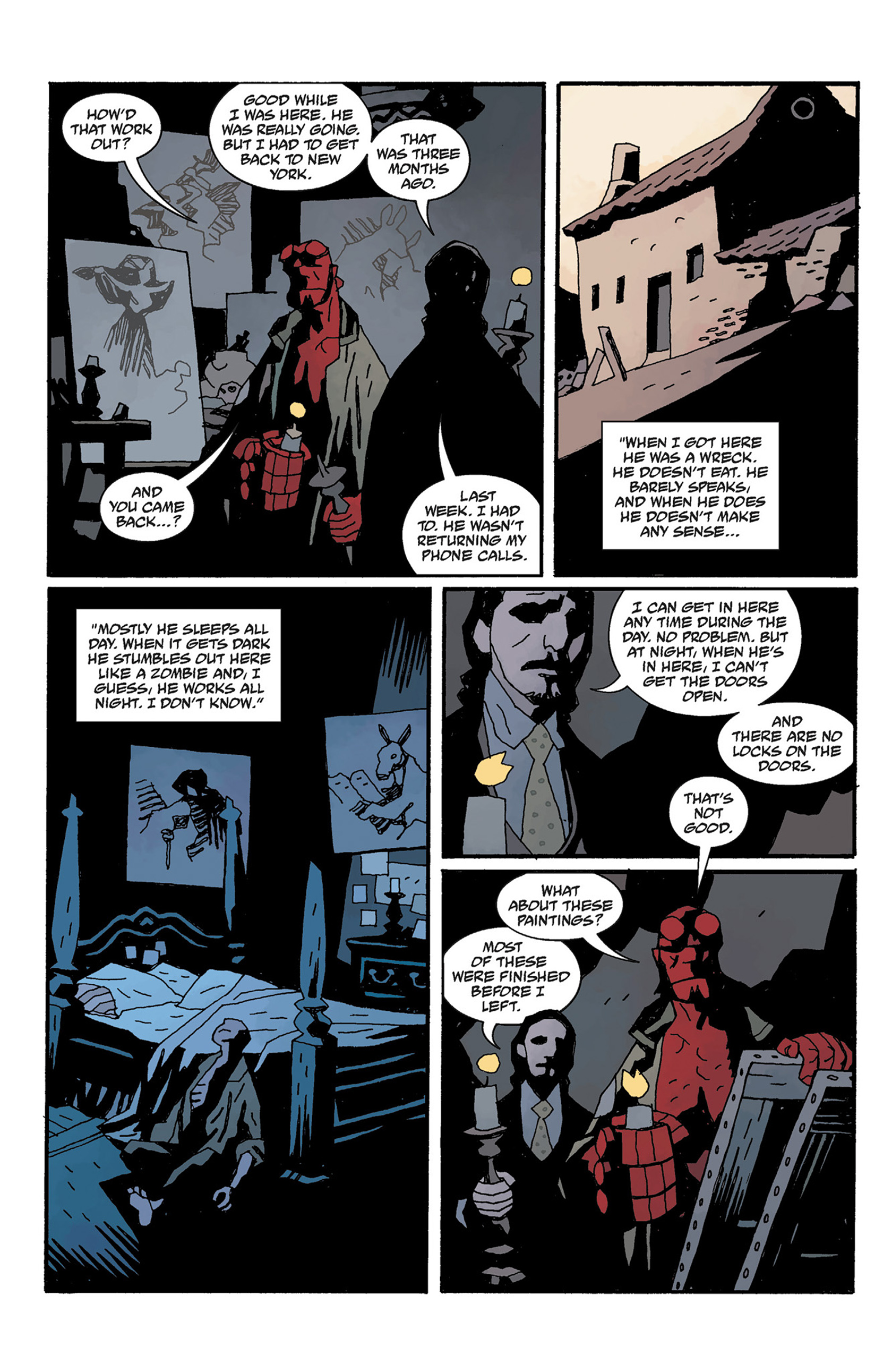 Read online Hellboy: The Crooked Man and Others comic -  Issue # TPB - 112