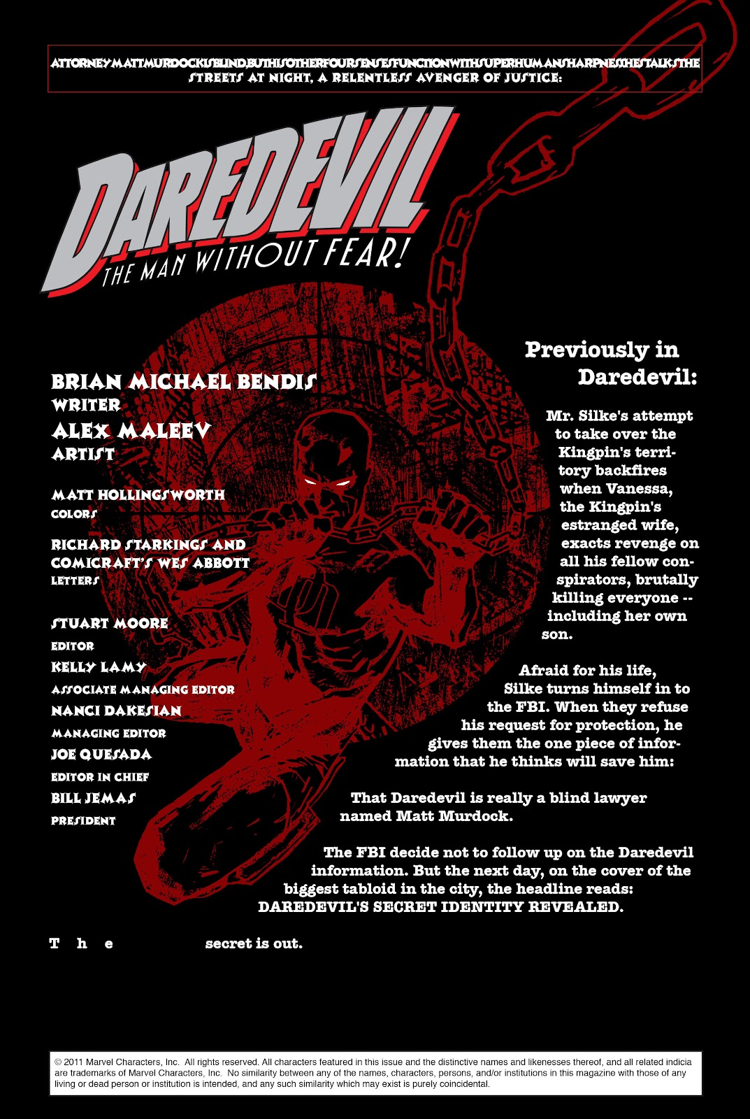 Read online Daredevil (1998) comic -  Issue # _Ultimate_Collection TPB 1 (Part 3) - 37