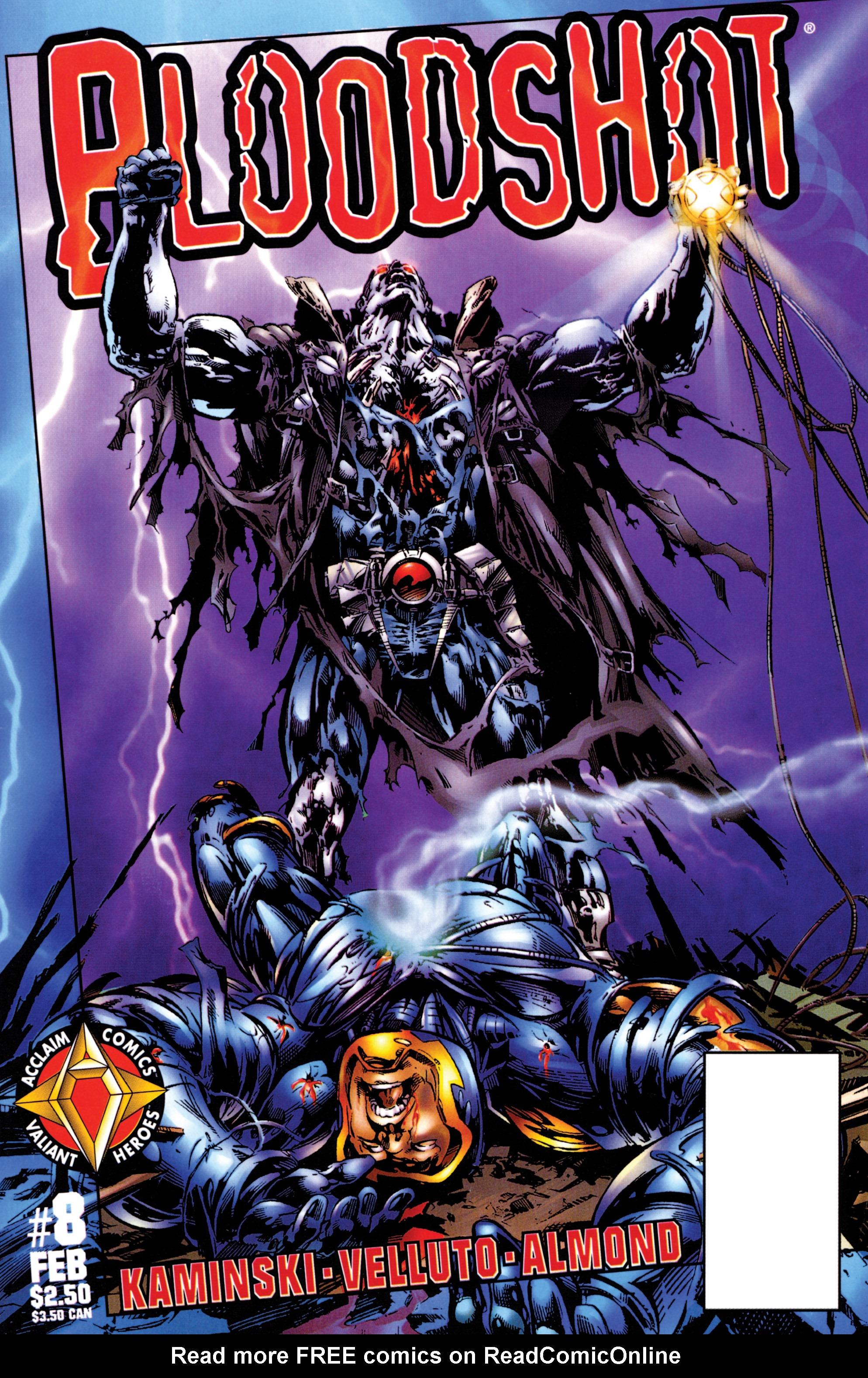 Bloodshot (1997) 8 Page 1