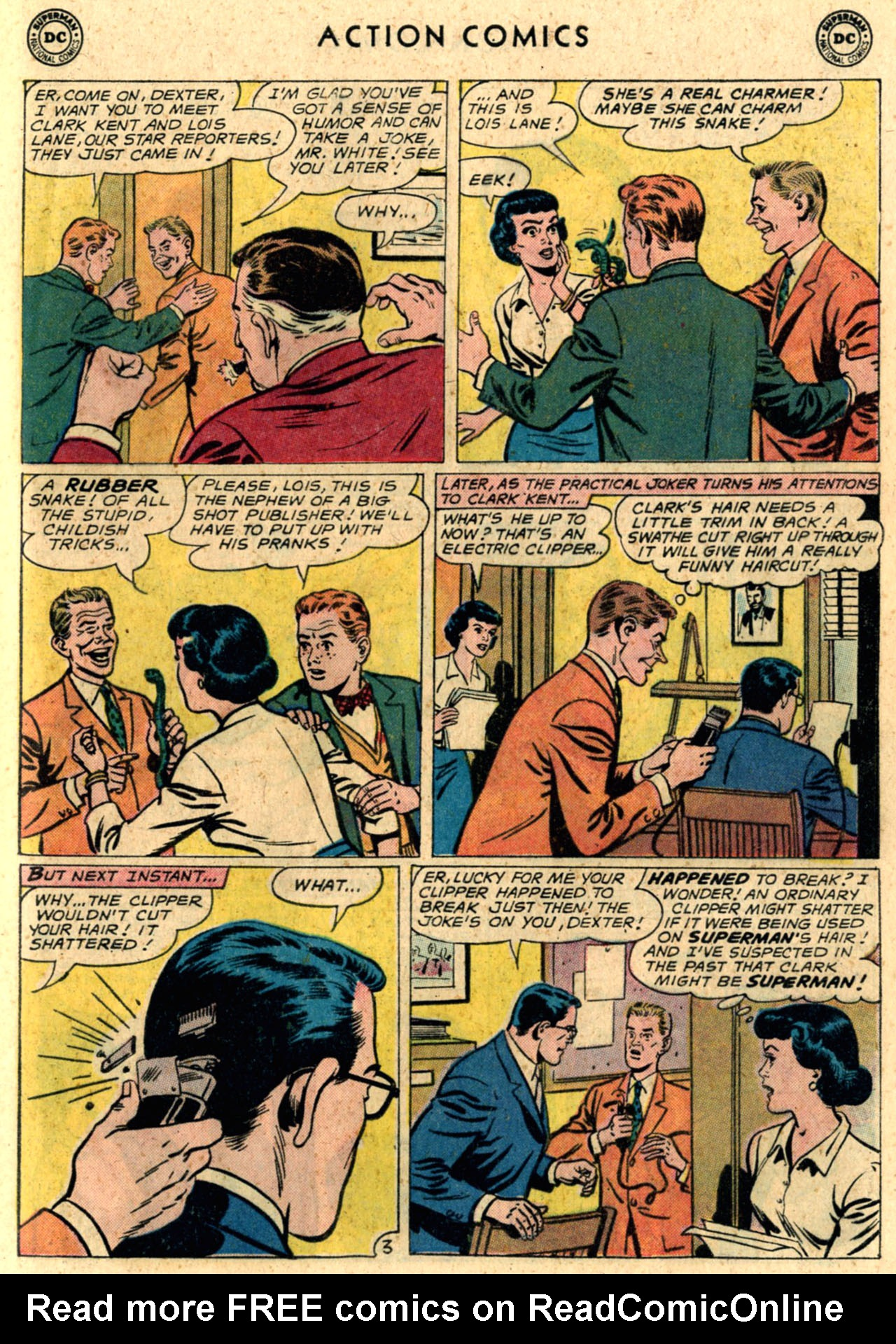 Read online Action Comics (1938) comic -  Issue #289 - 5