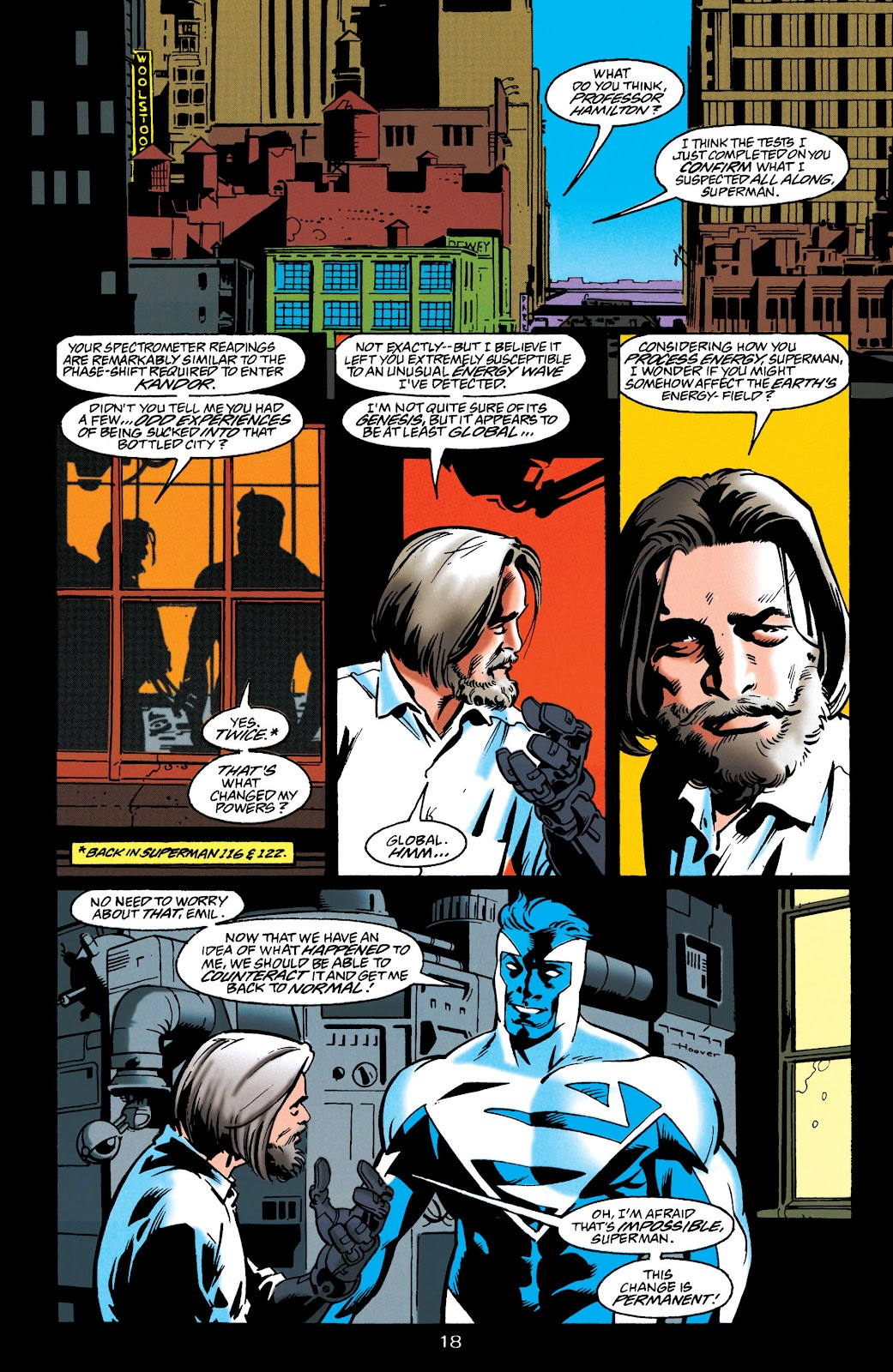 Adventures of Superman (1987) issue 549 - Page 18