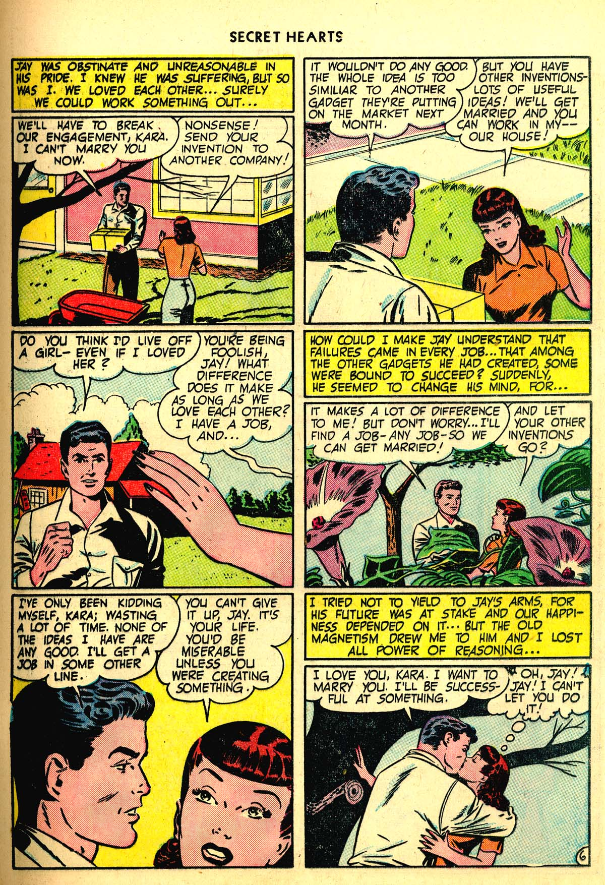 Read online Secret Hearts comic -  Issue #6 - 17