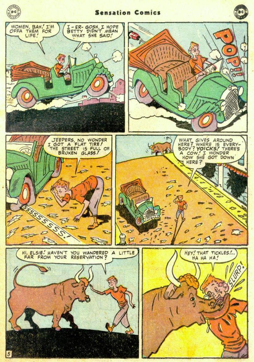 Read online Sensation (Mystery) Comics comic -  Issue #74 - 37