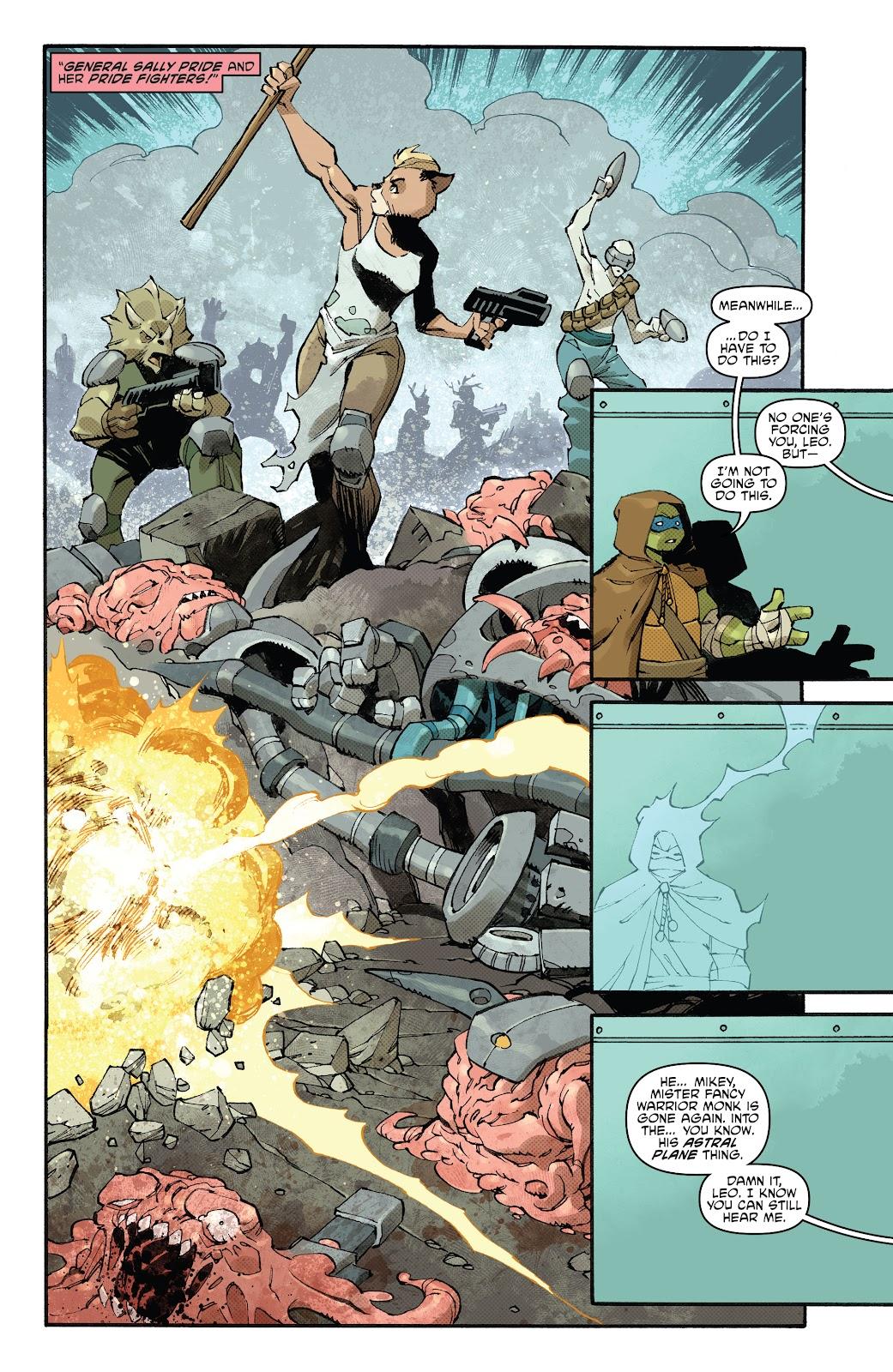Read online Teenage Mutant Ninja Turtles (2011) comic -  Issue #102 - 28