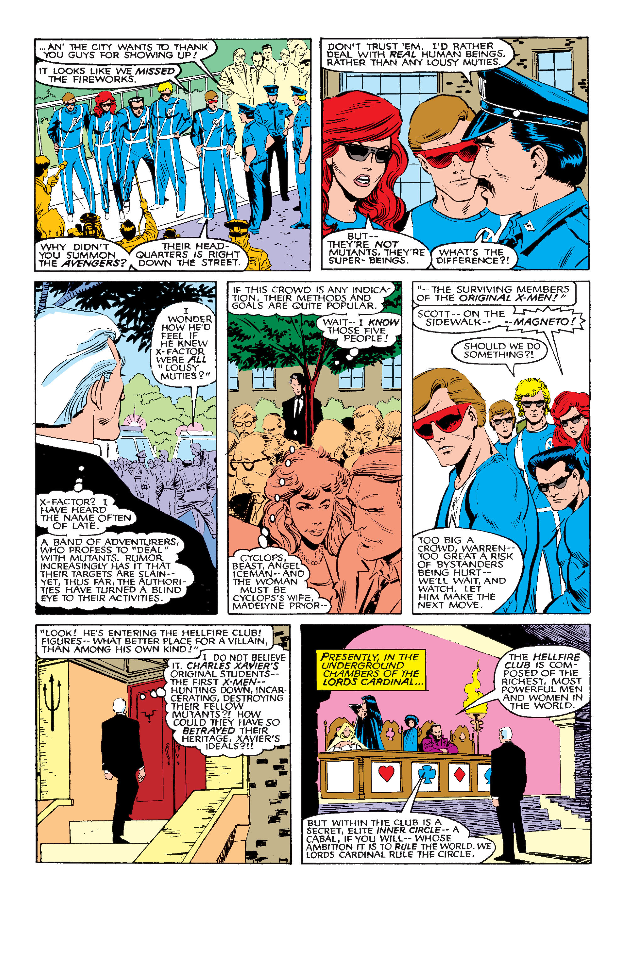Read online Uncanny X-Men (1963) comic -  Issue #210 - 17