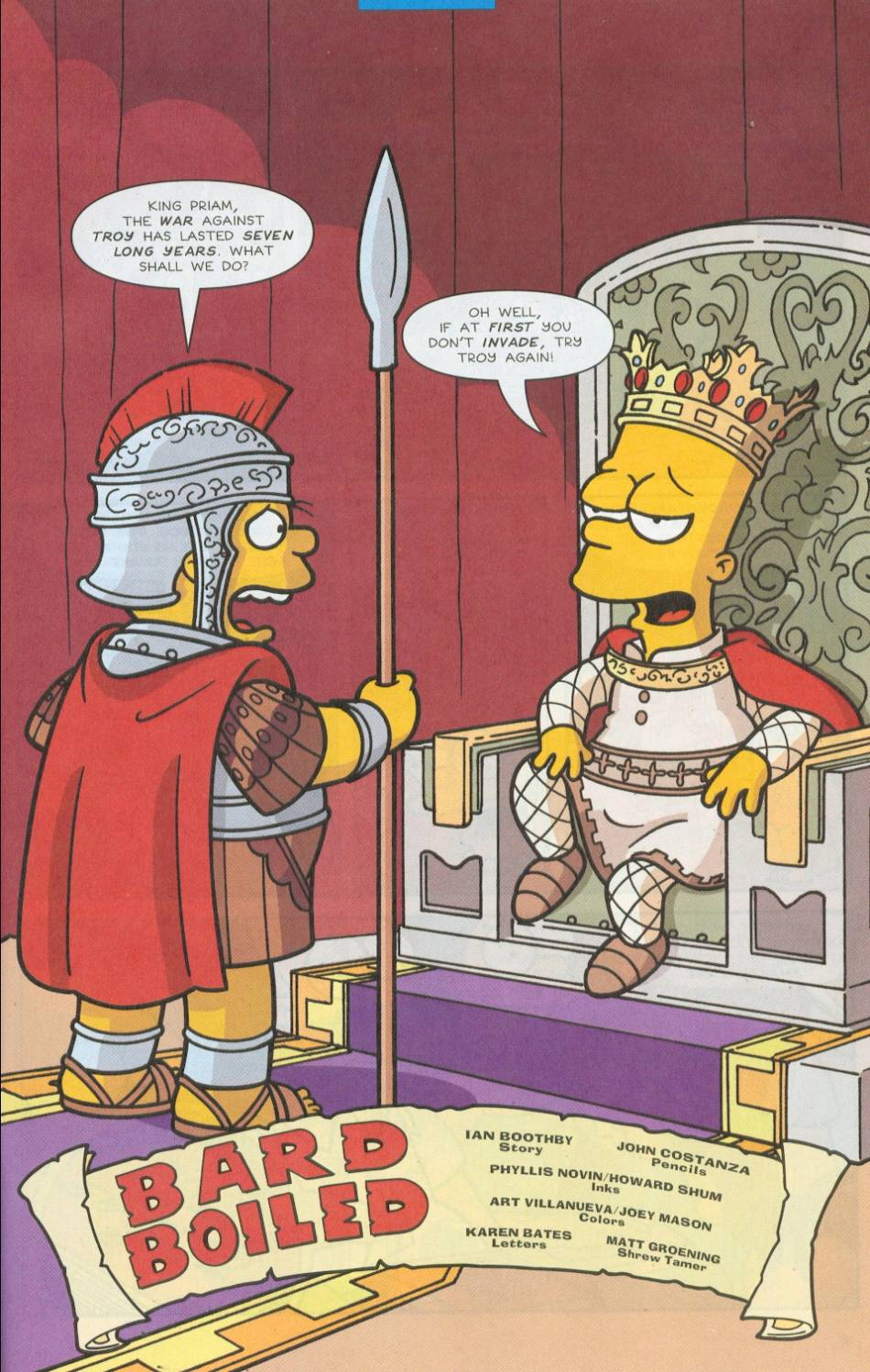 Read online Simpsons Comics comic -  Issue #76 - 2