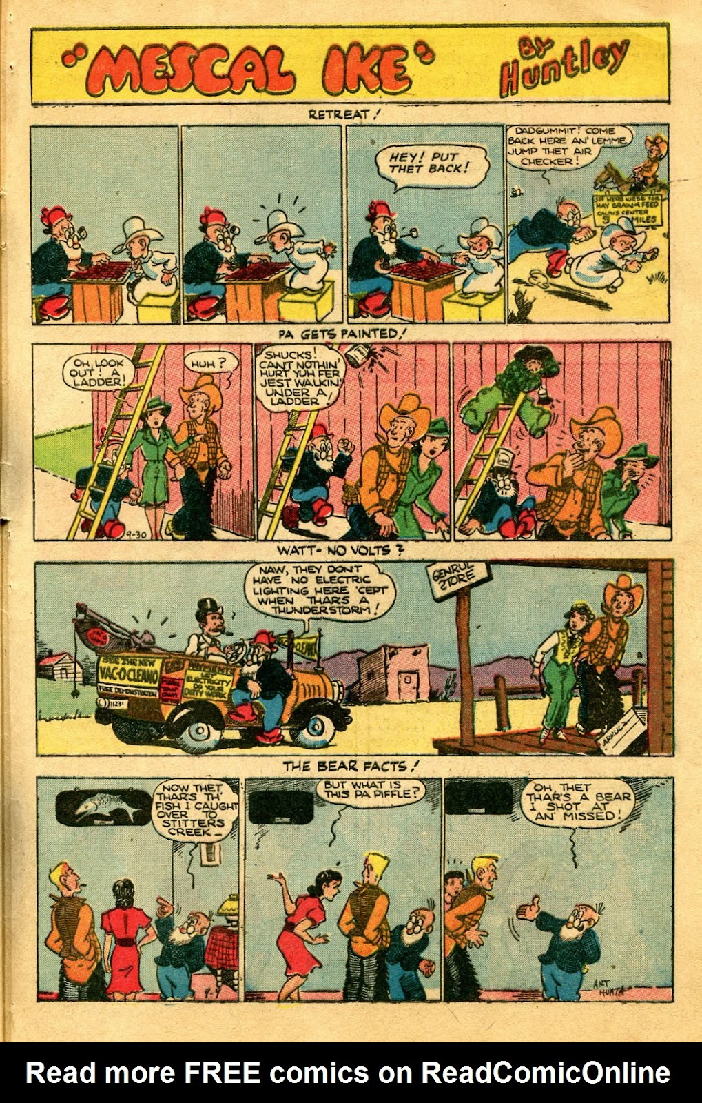 Read online Famous Funnies comic -  Issue #122 - 45