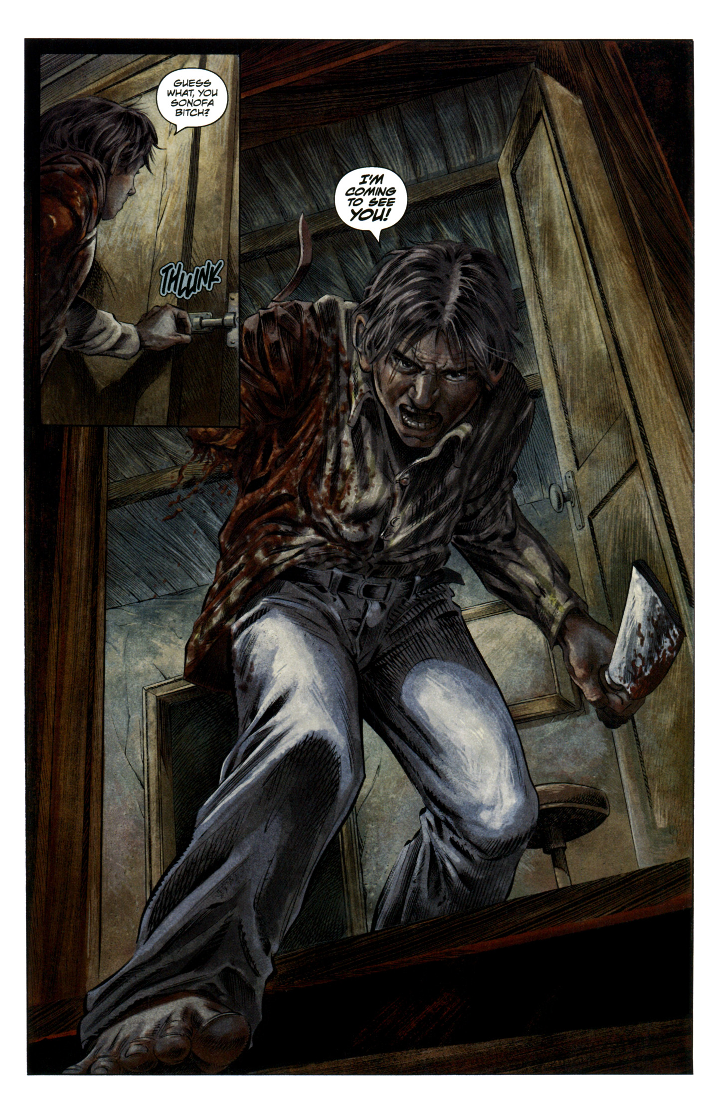 Read online Severed comic -  Issue #7 - 22