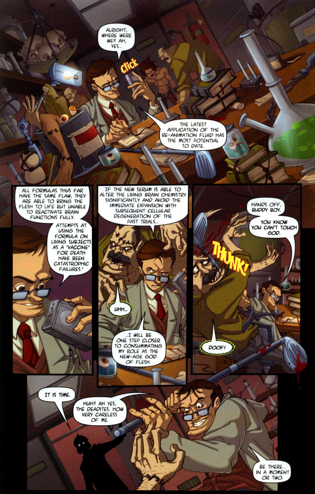 Army of Darkness vs. Re-Animator Issue #1 #1 - English 11