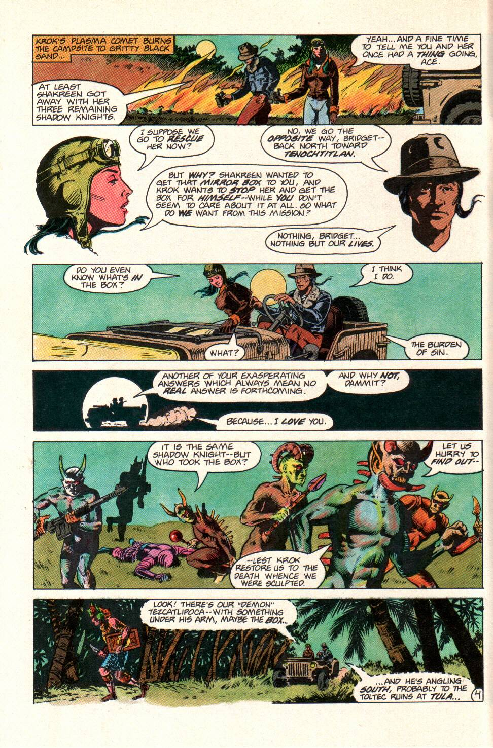 Read online Aztec Ace comic -  Issue #11 - 5