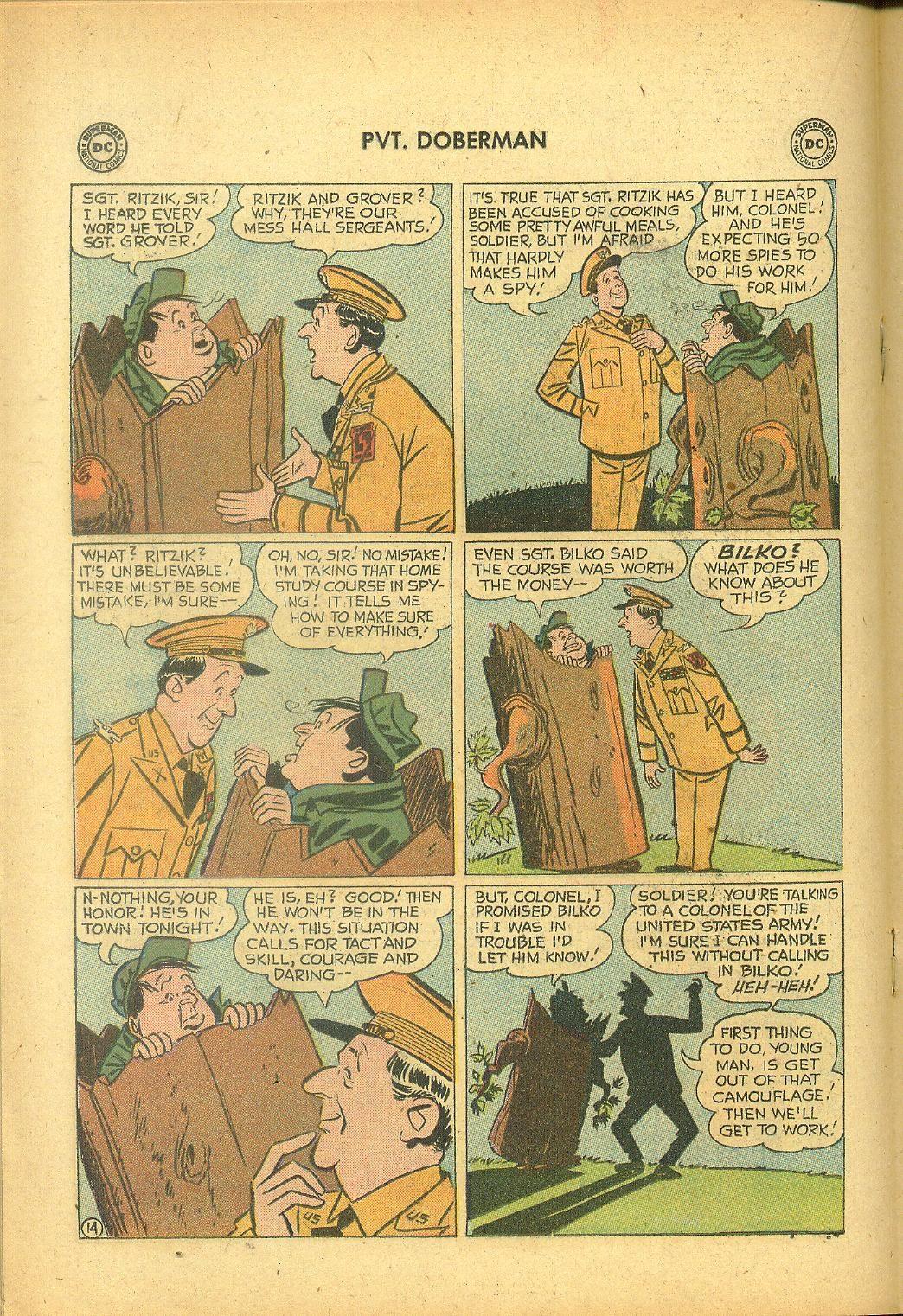 Sgt. Bilko's Pvt. Doberman issue 1 - Page 18