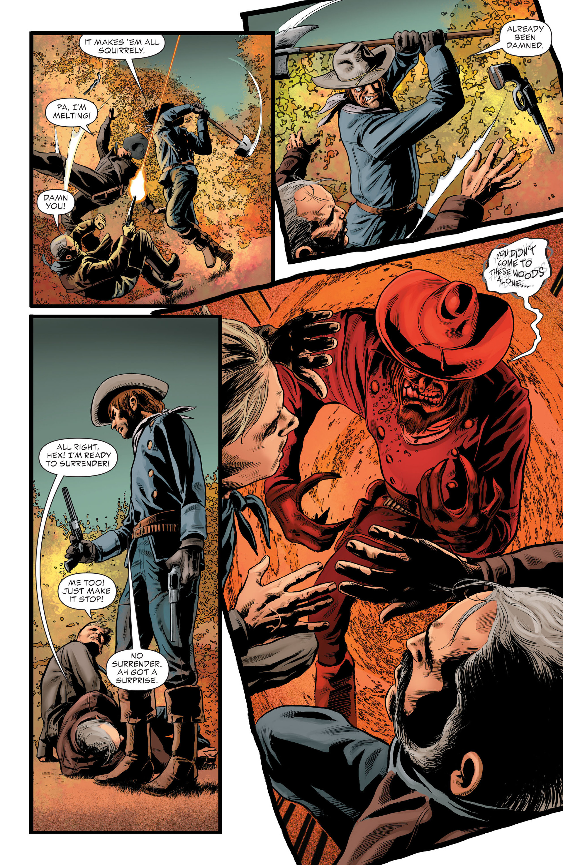 Read online All-Star Western (2011) comic -  Issue #29 - 17