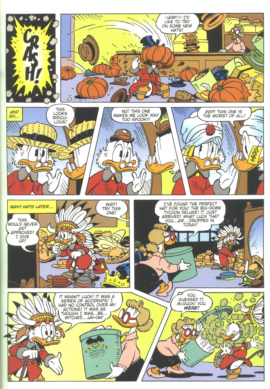 Read online Uncle Scrooge (1953) comic -  Issue #317 - 11