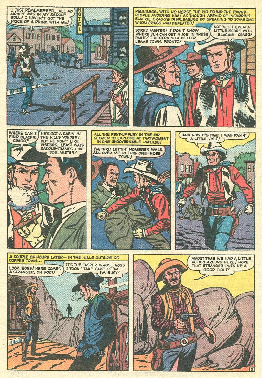 Kid Colt Outlaw issue 151 - Page 8