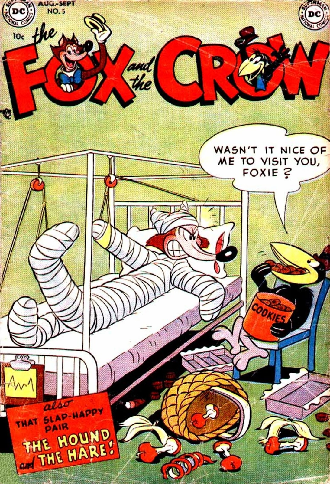 The Fox and the Crow issue 5 - Page 1