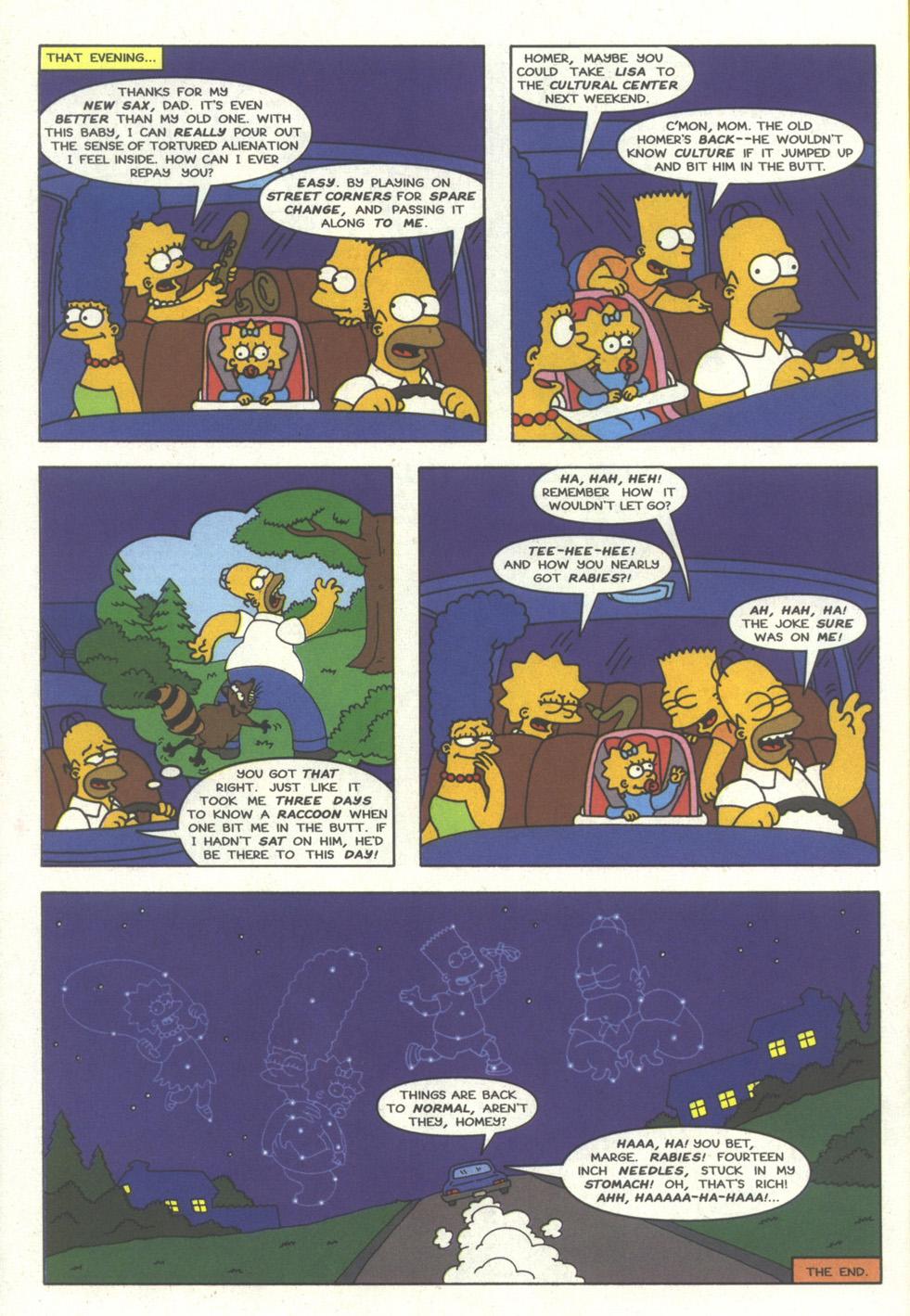 Read online Simpsons Comics comic -  Issue #27 - 23