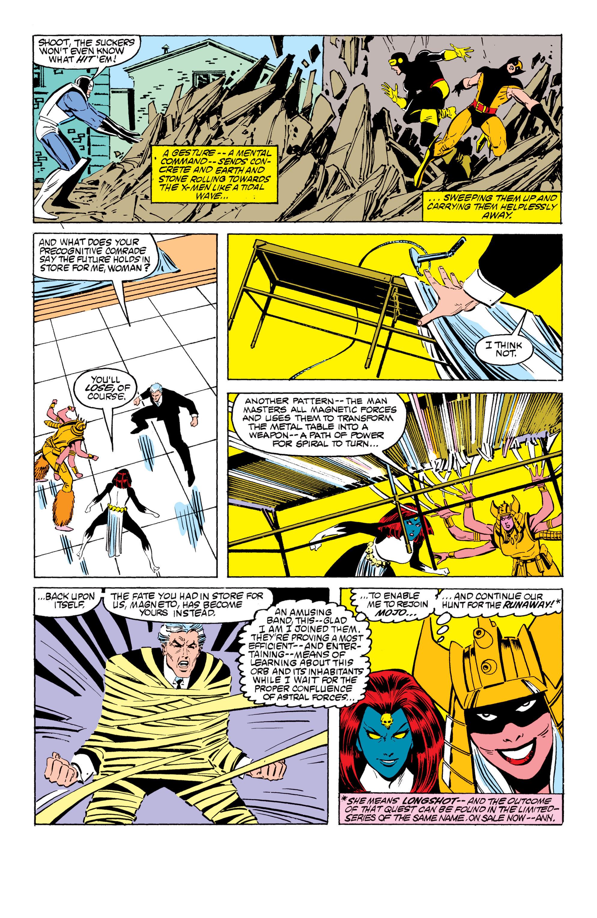 Read online Uncanny X-Men (1963) comic -  Issue #199 - 19