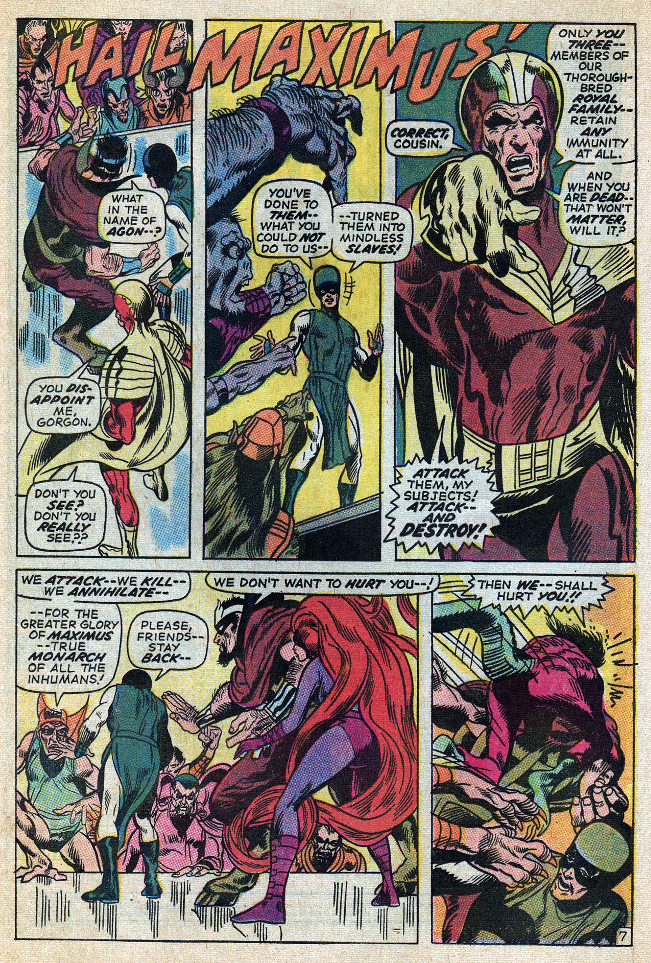 Read online Amazing Adventures (1970) comic -  Issue #6 - 12