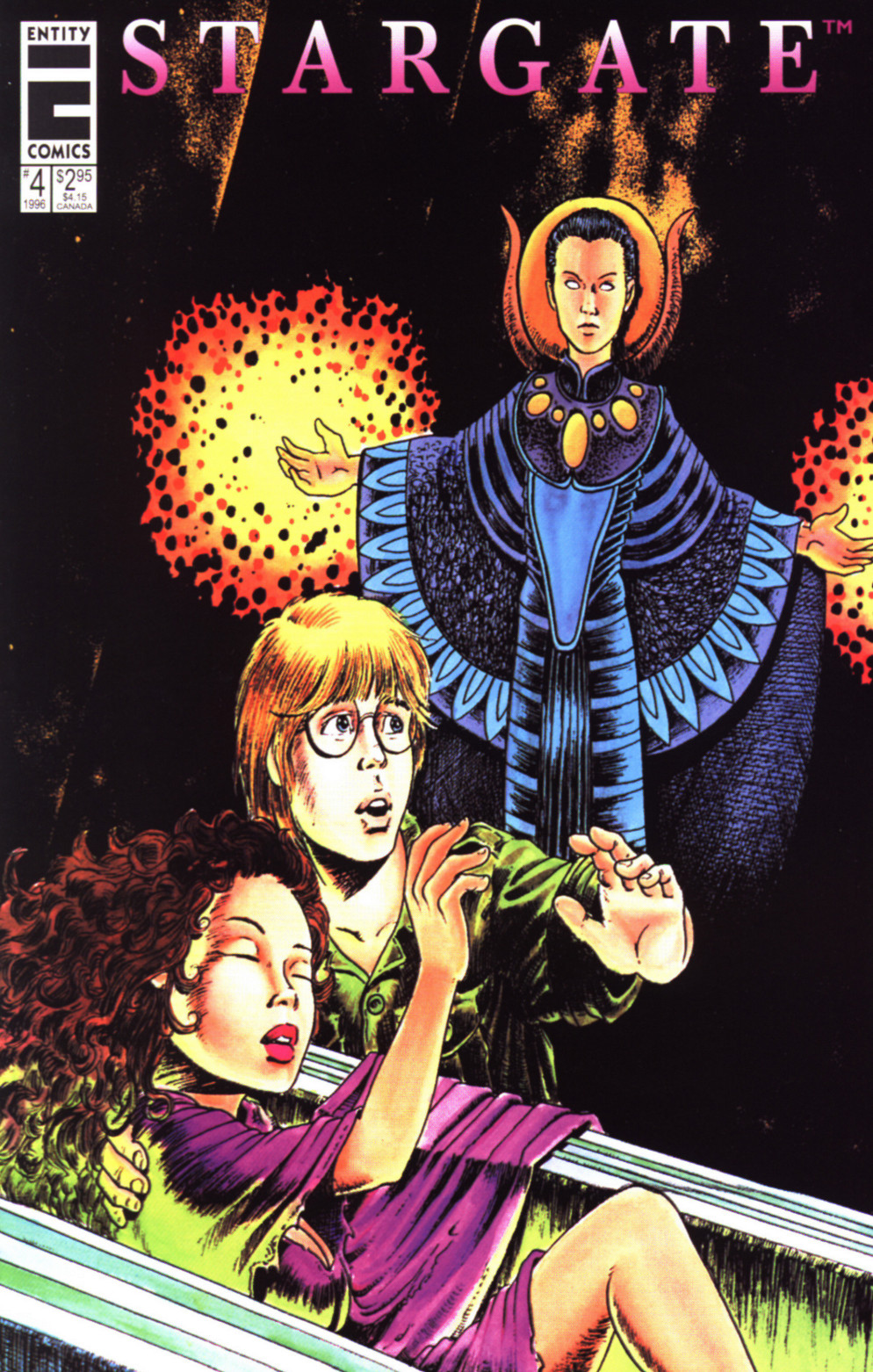 Read online Stargate comic -  Issue #4 - 1