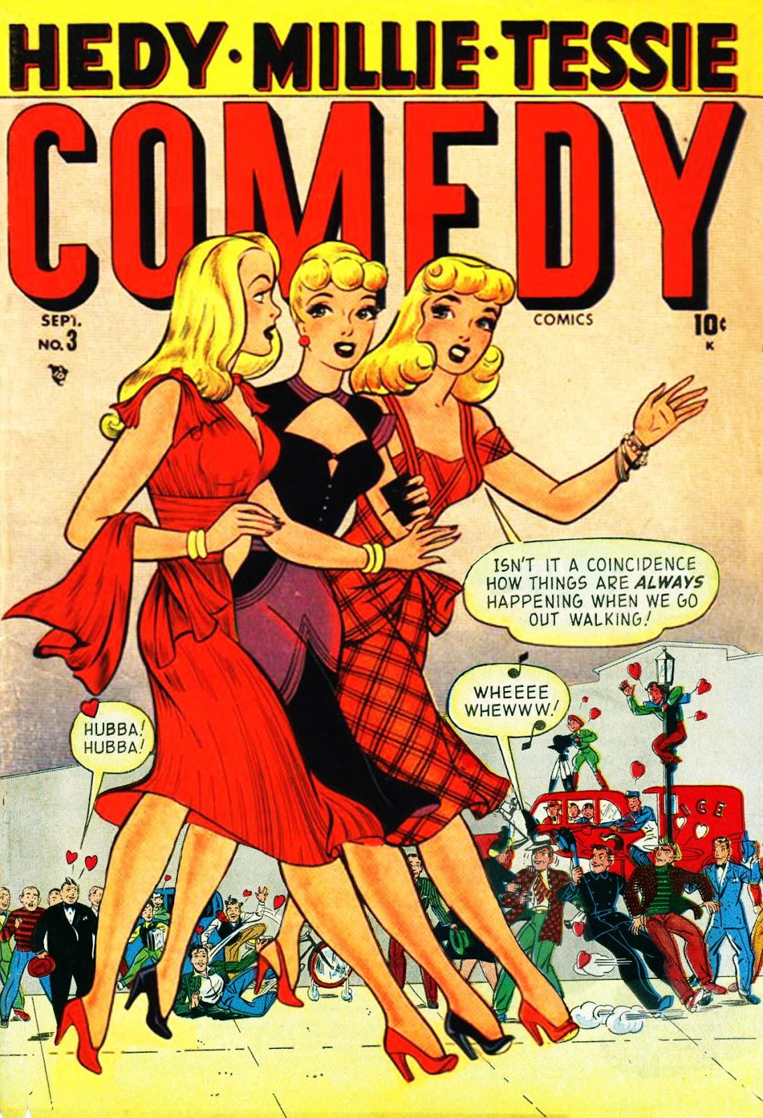 Read online Comedy Comics (1948) comic -  Issue #3 - 1