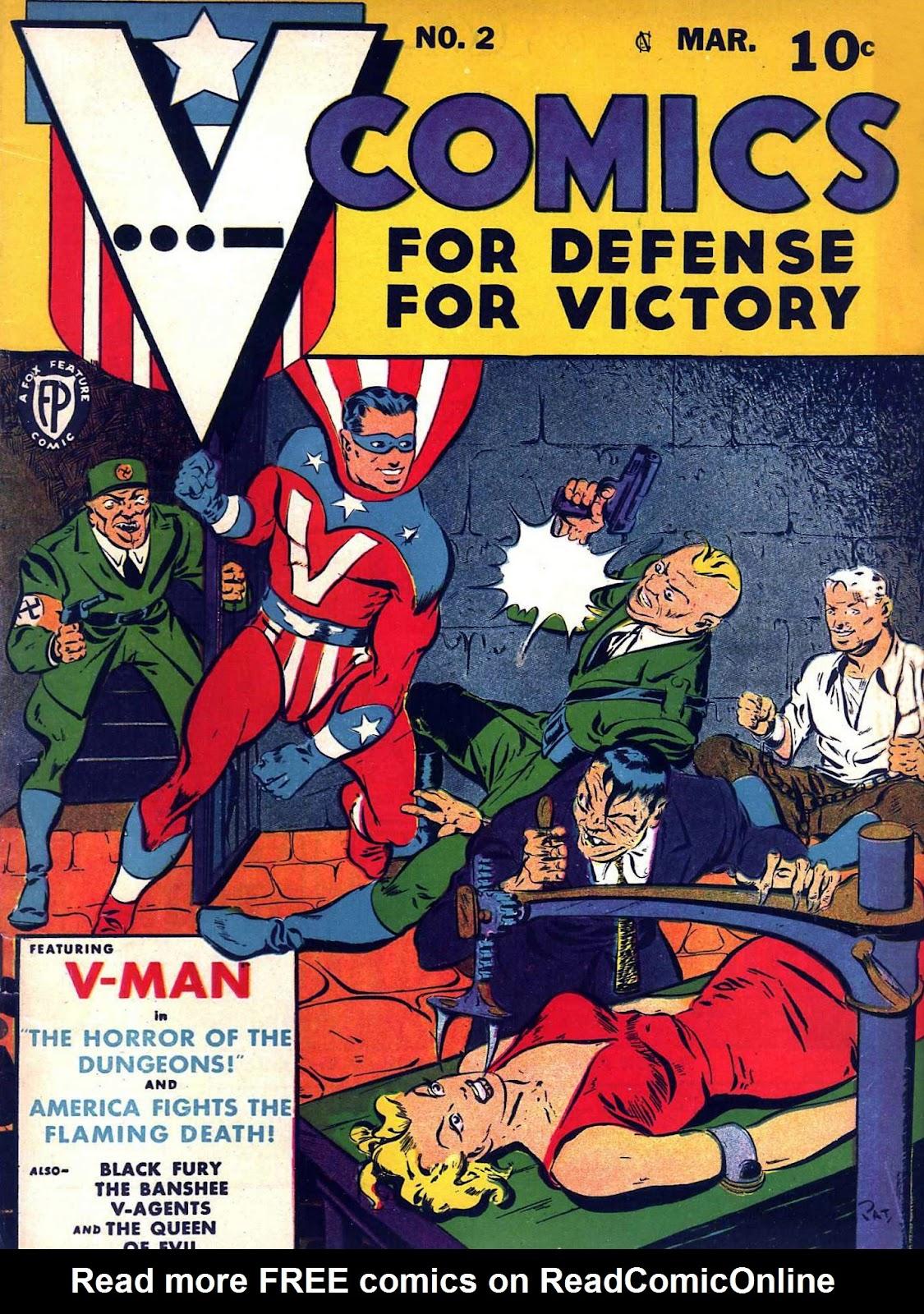 Read online V...- Comics comic -  Issue #2 - 1