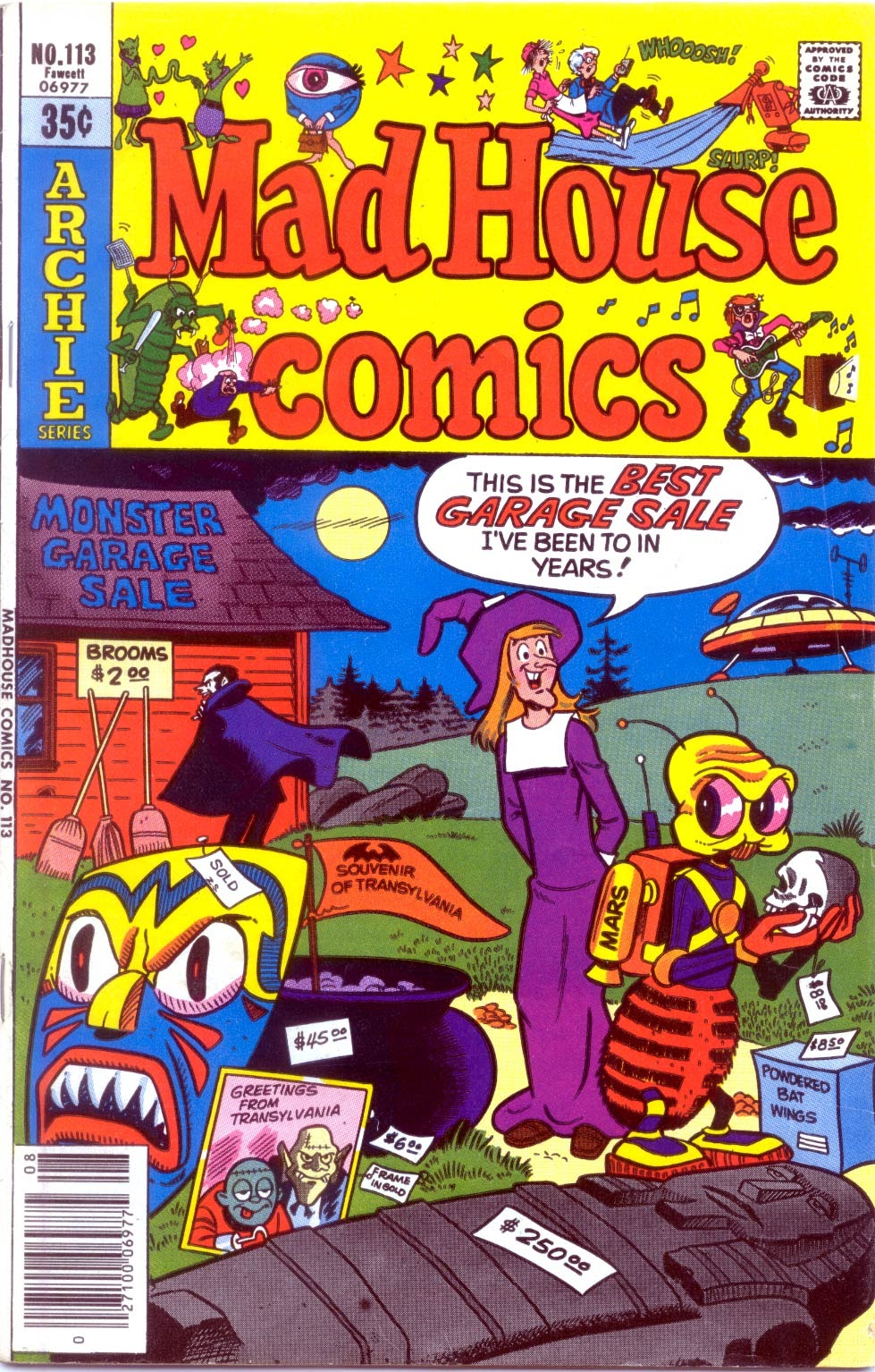 Read online Madhouse Comics comic -  Issue #113 - 1