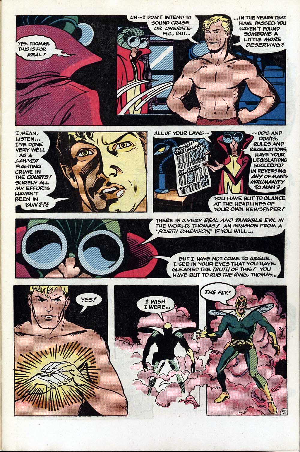 Read online The Fly (1983) comic -  Issue #1 - 6