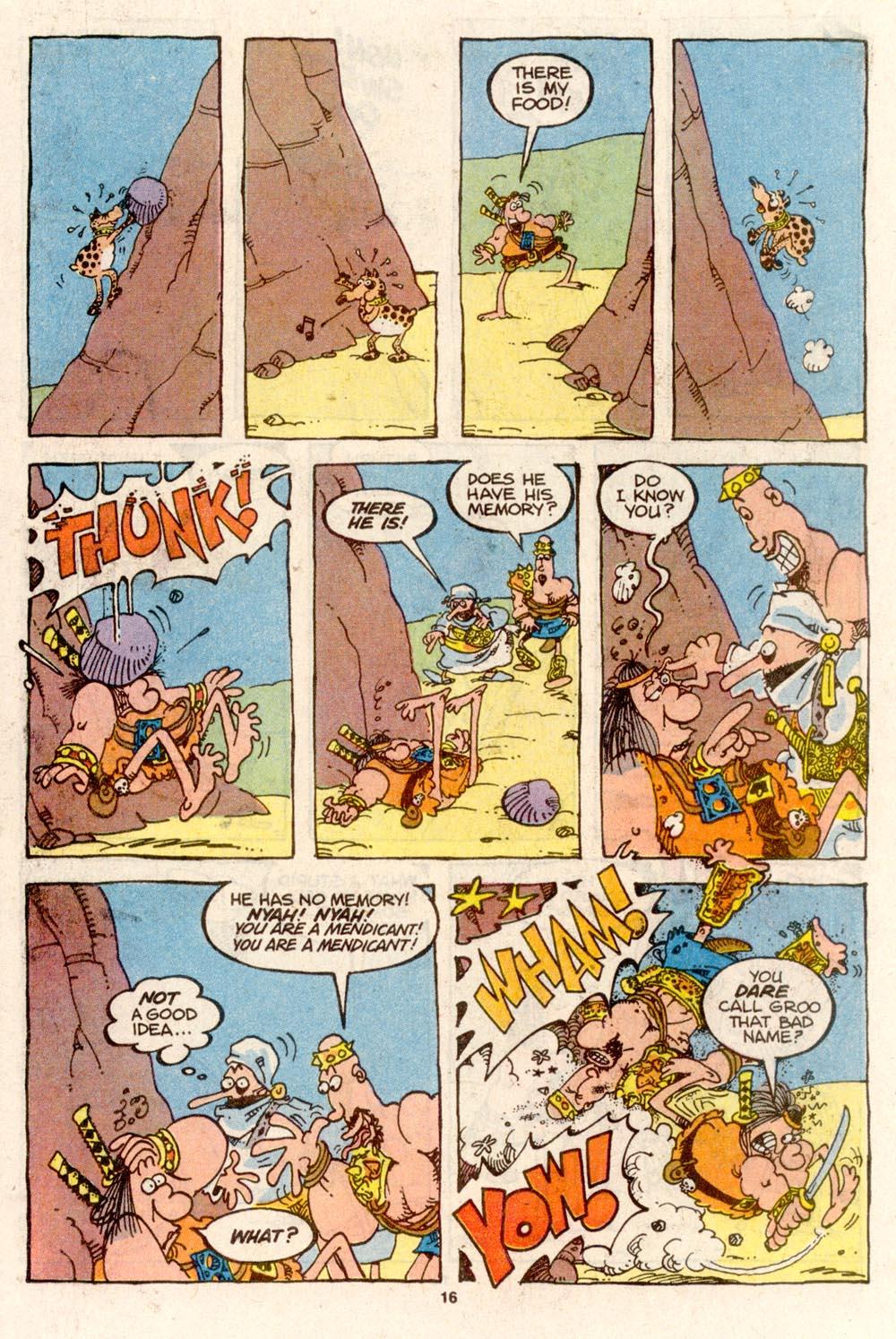 Read online Sergio Aragonés Groo the Wanderer comic -  Issue #74 - 12