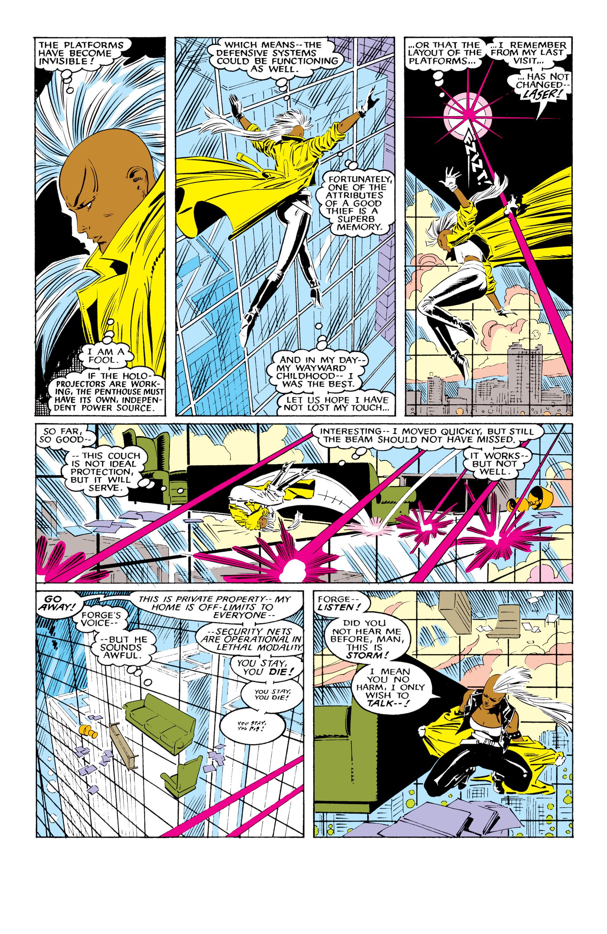 Read online Uncanny X-Men (1963) comic -  Issue #220 - 14